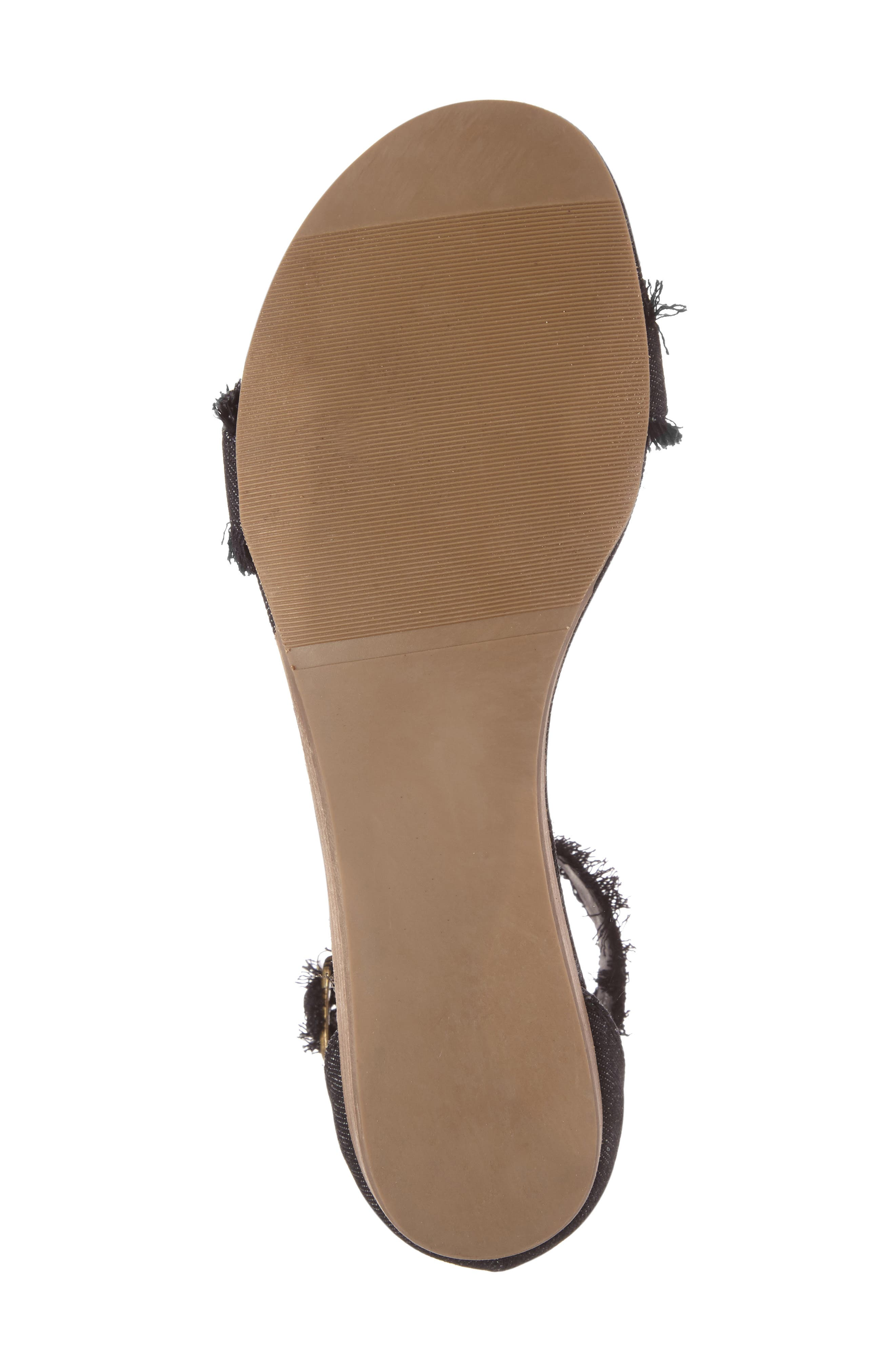 Coconuts by Matisse Fly Ankle Strap Sandal,                             Alternate thumbnail 4, color,                             002