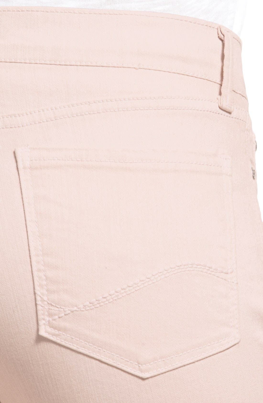 'Dayla' Colored Wide Cuff Capri Jeans,                             Alternate thumbnail 70, color,