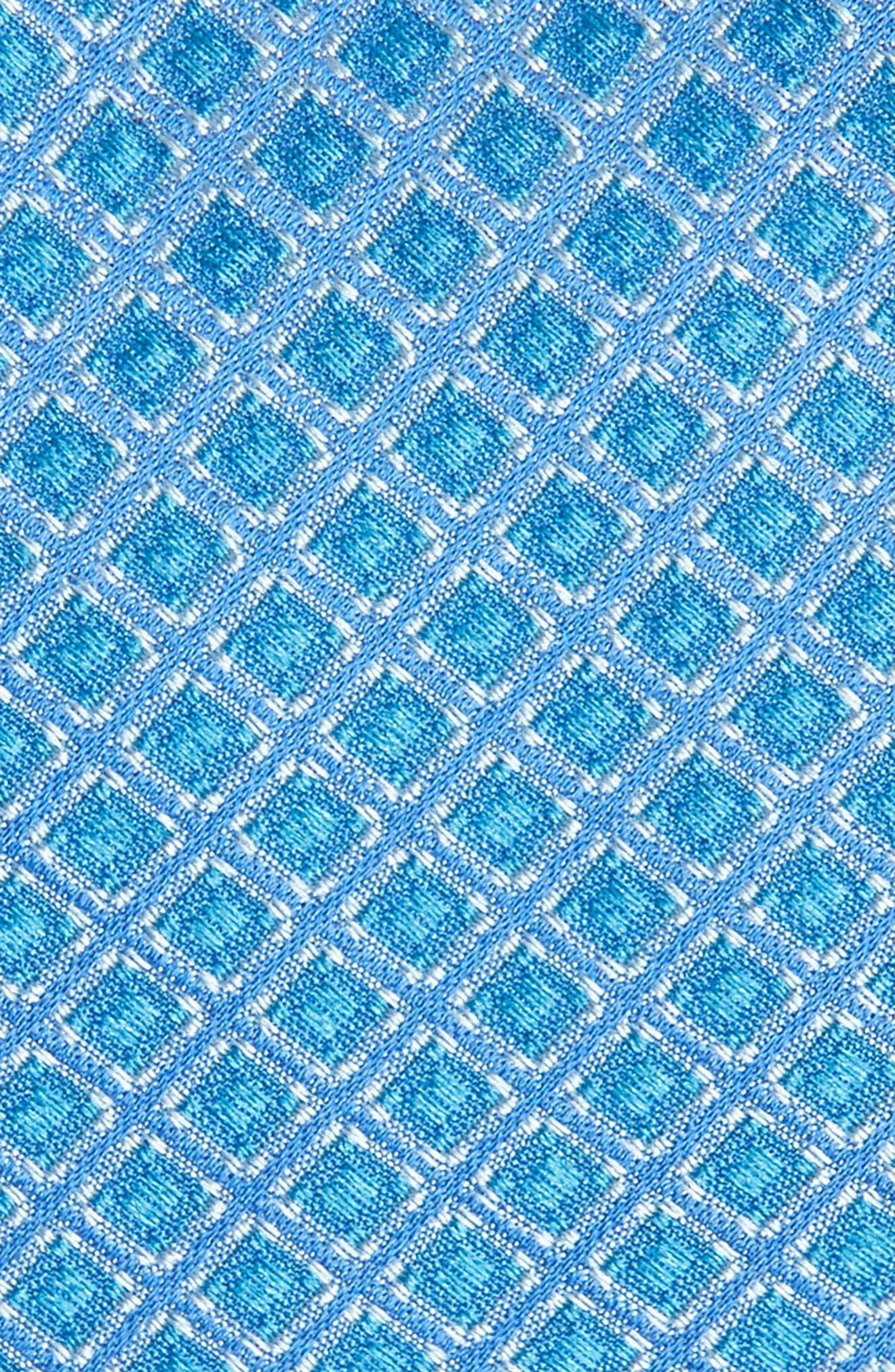 Denberg Check Silk Tie,                             Alternate thumbnail 6, color,