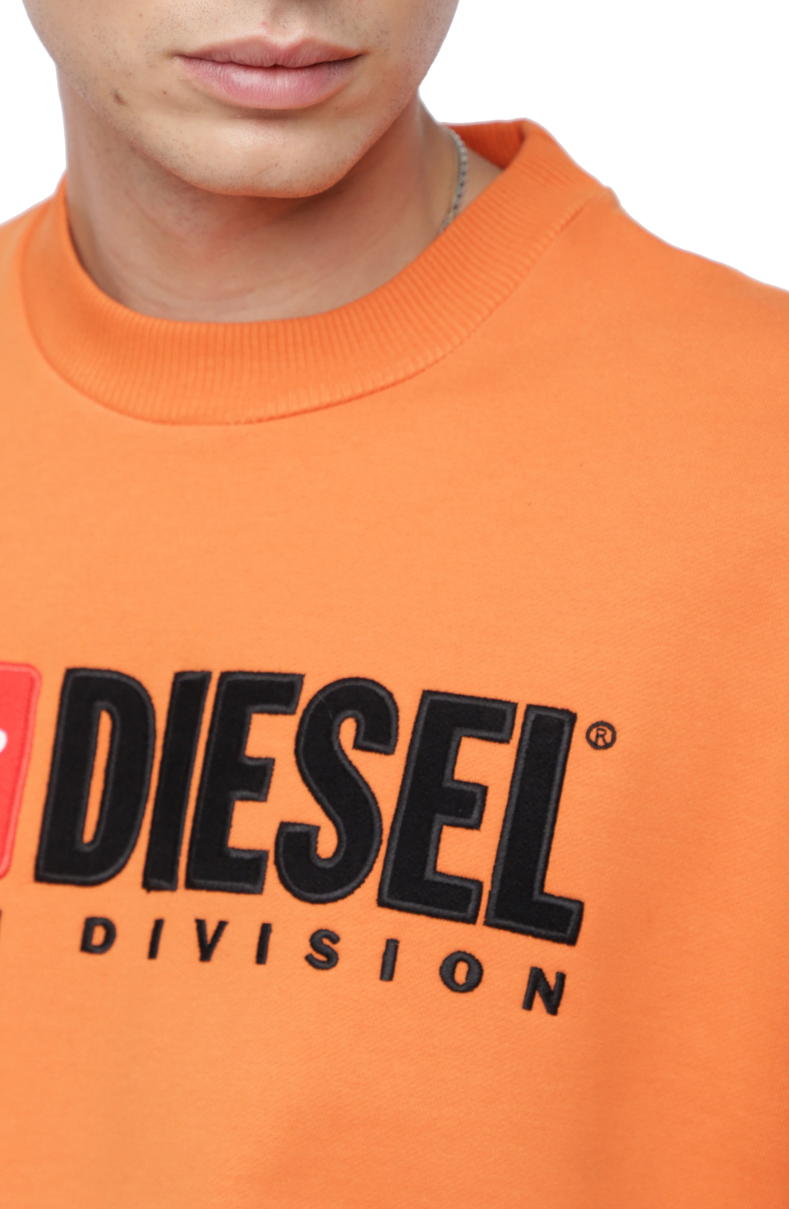 S-CREW-DIVISION Sweatshirt,                             Alternate thumbnail 3, color,                             ORANGE