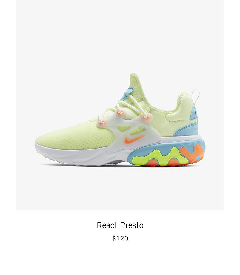 70fa37c23d Nordstrom x Nike: new and hot React Presto.