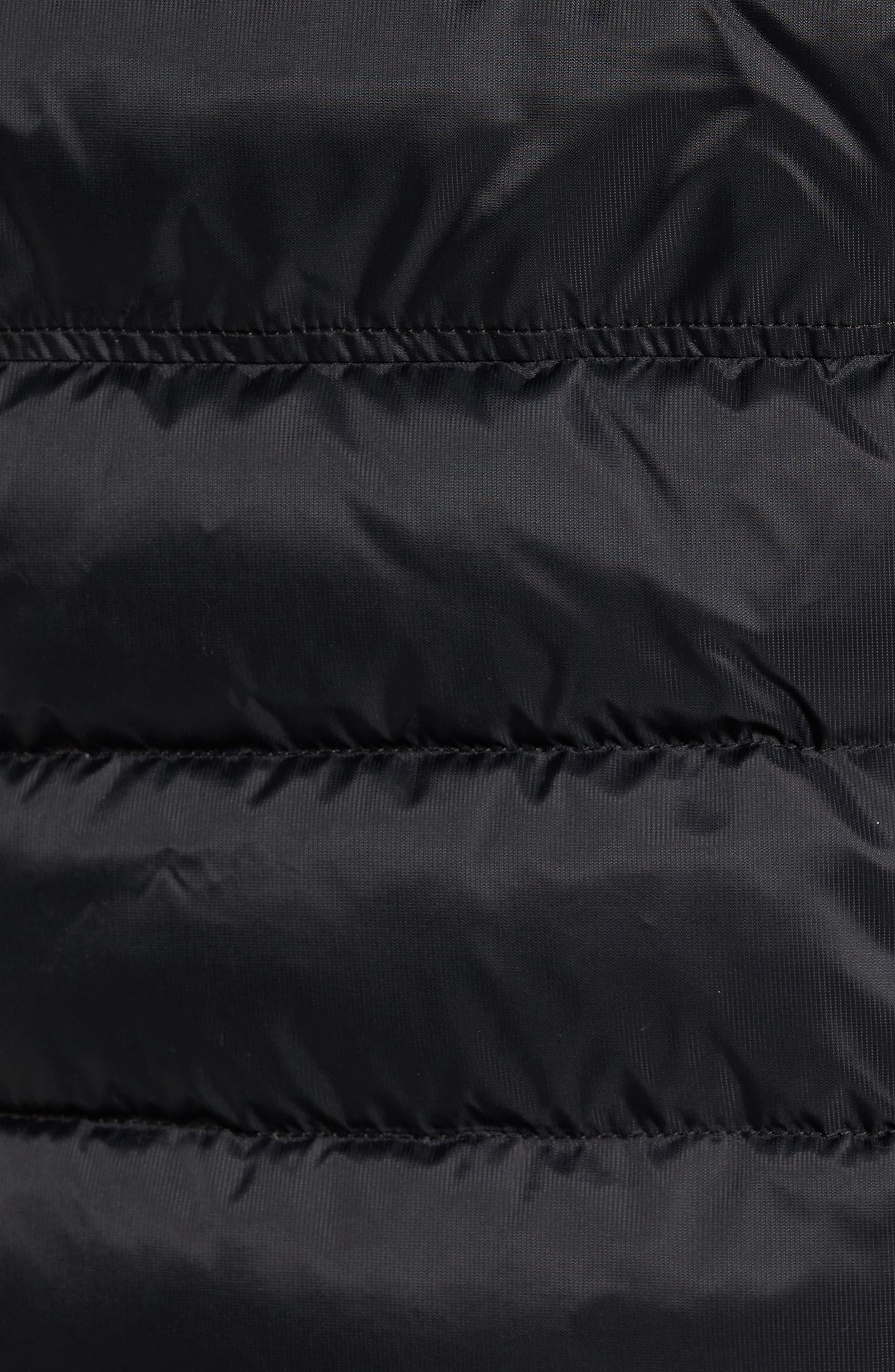 HyBridge Perren  Slim Fit Packable Down Jacket,                             Alternate thumbnail 6, color,                             BLACK