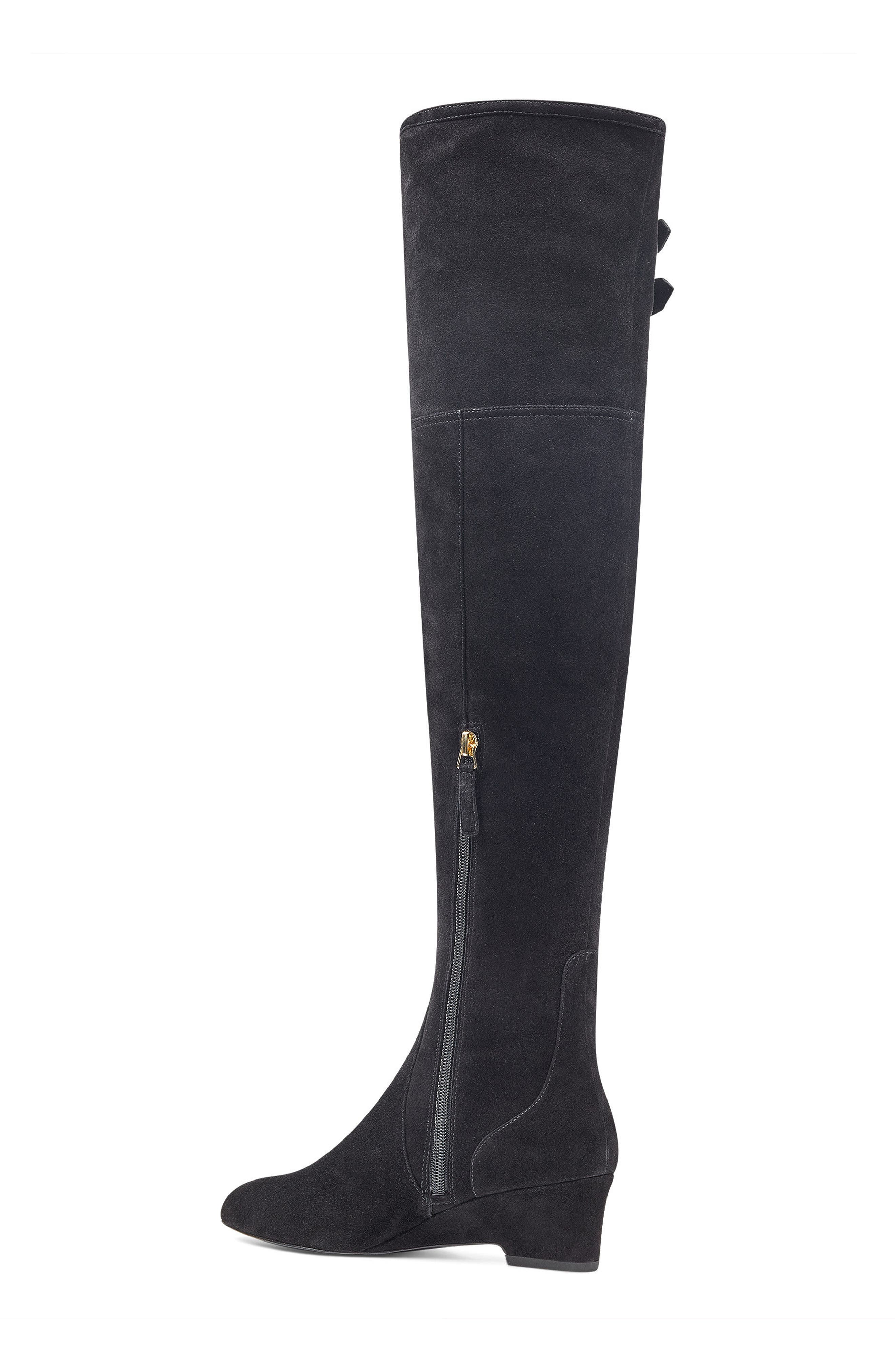 NINE WEST,                             Jaen Over the Knee Boot,                             Alternate thumbnail 2, color,                             001