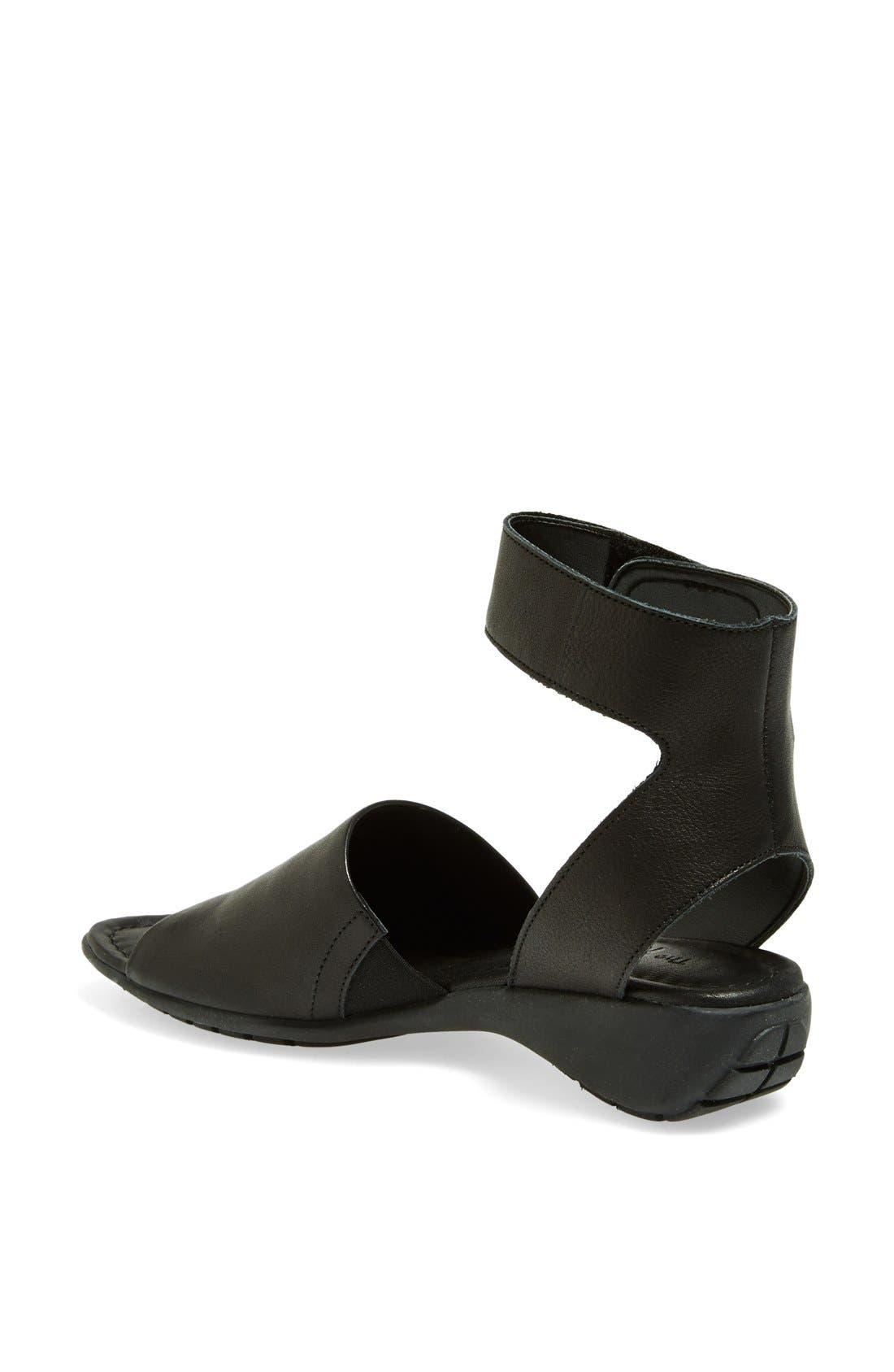'Beglad' Leather Ankle Strap Sandal,                             Alternate thumbnail 21, color,