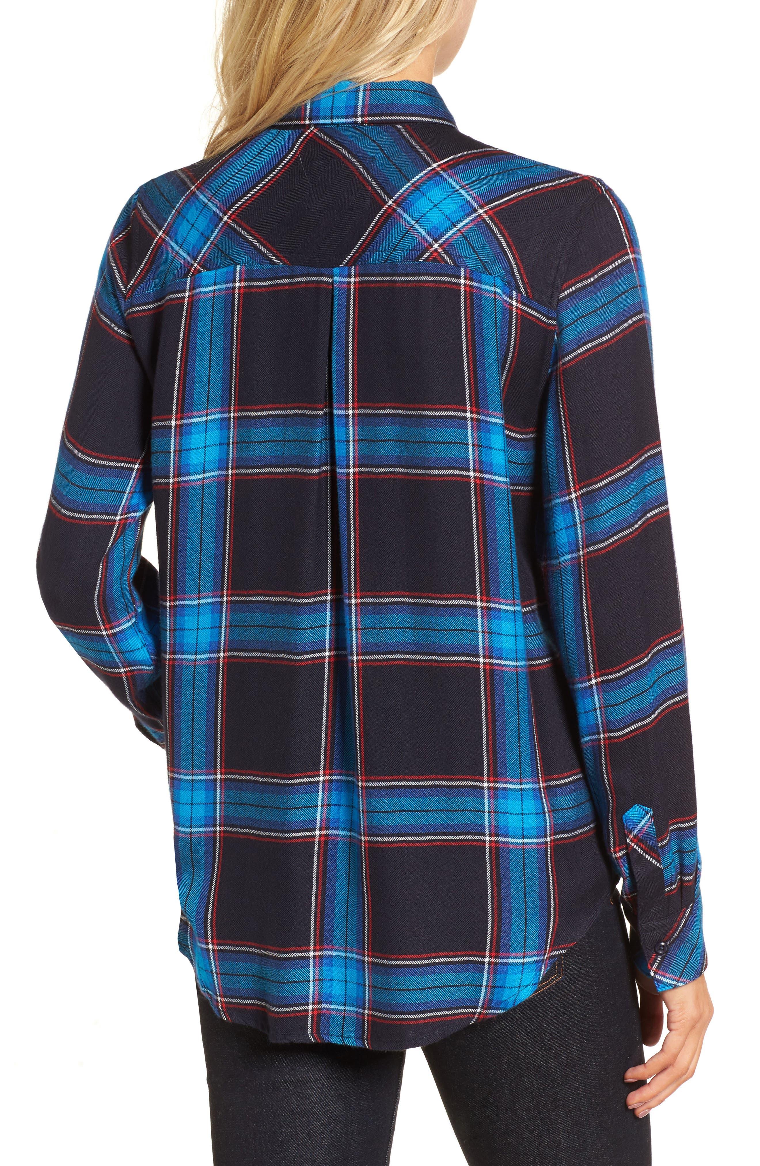 Hunter Plaid Shirt,                             Alternate thumbnail 205, color,