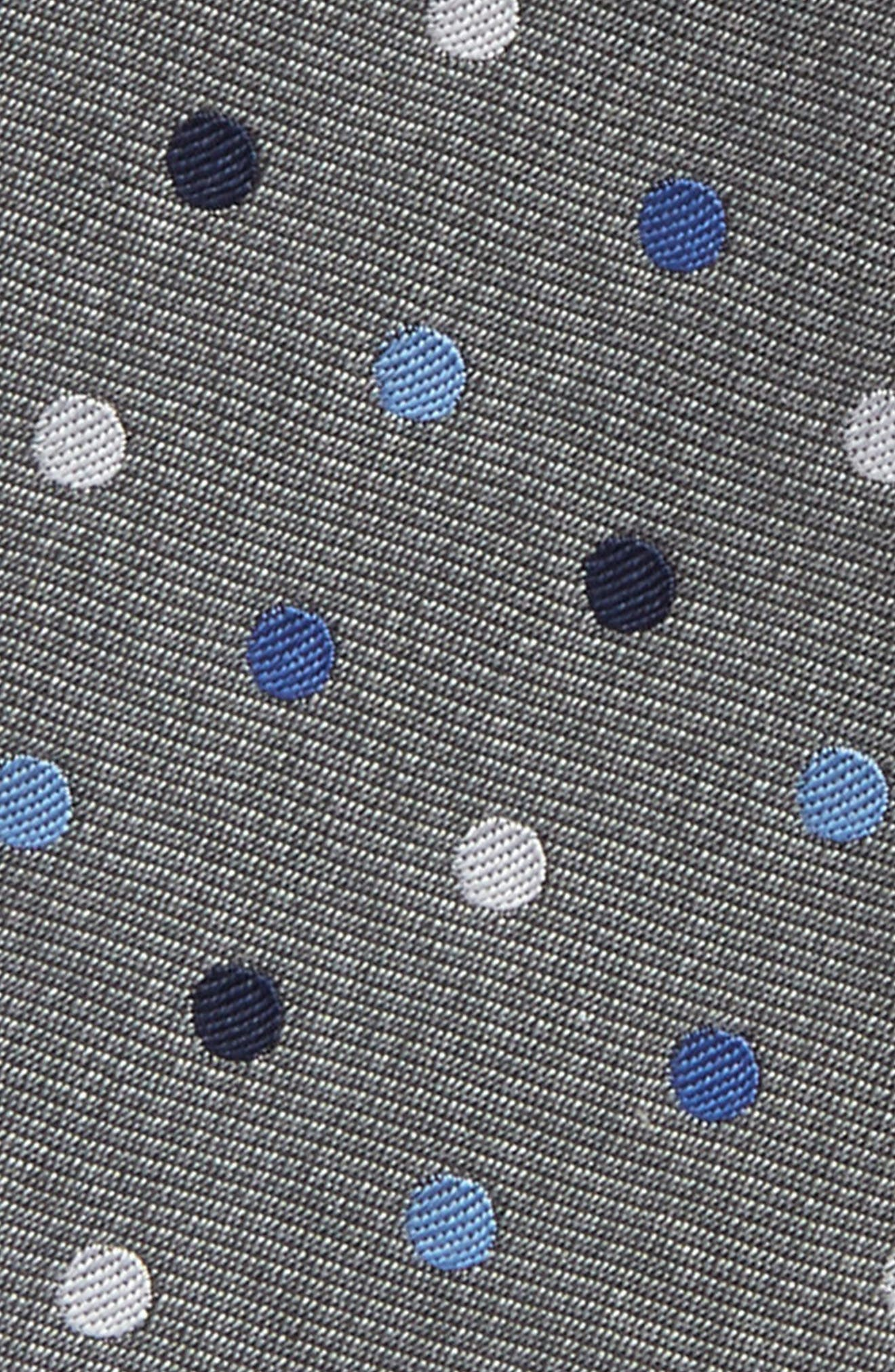 Spree Dot Silk Bow Tie,                             Alternate thumbnail 3, color,                             020