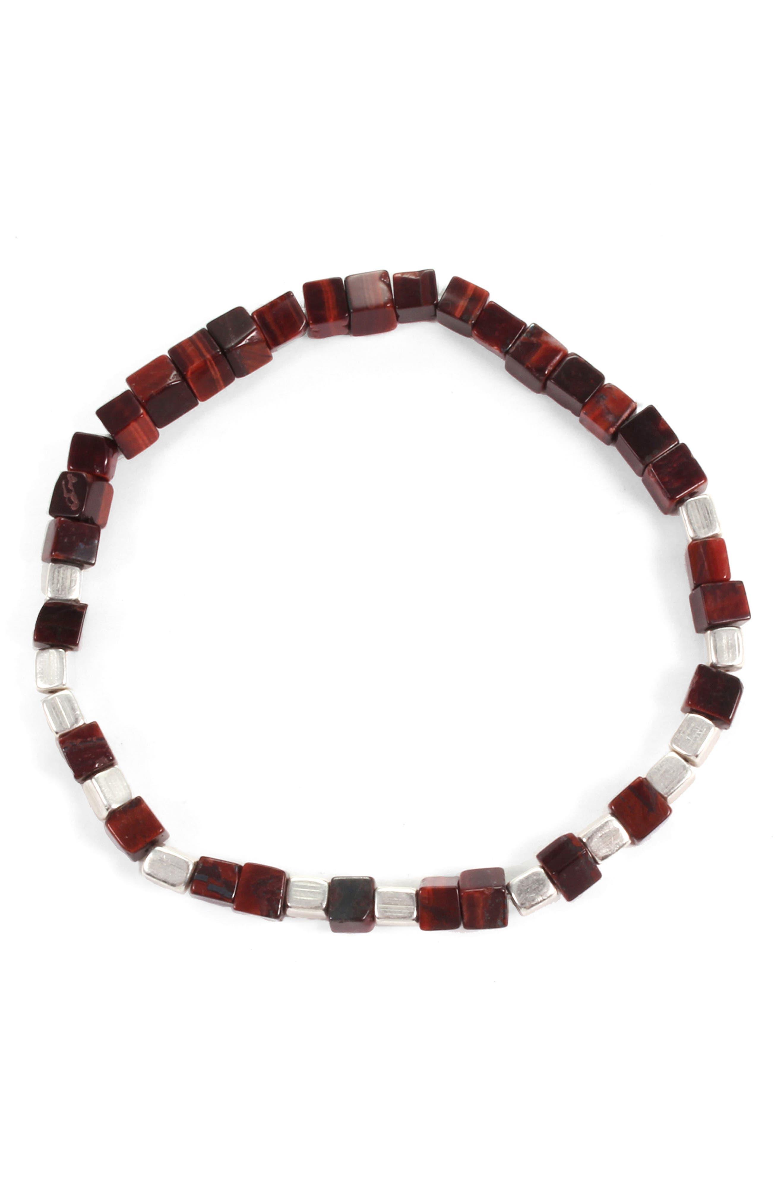 Life Morse Beaded Bracelet,                         Main,                         color, 240