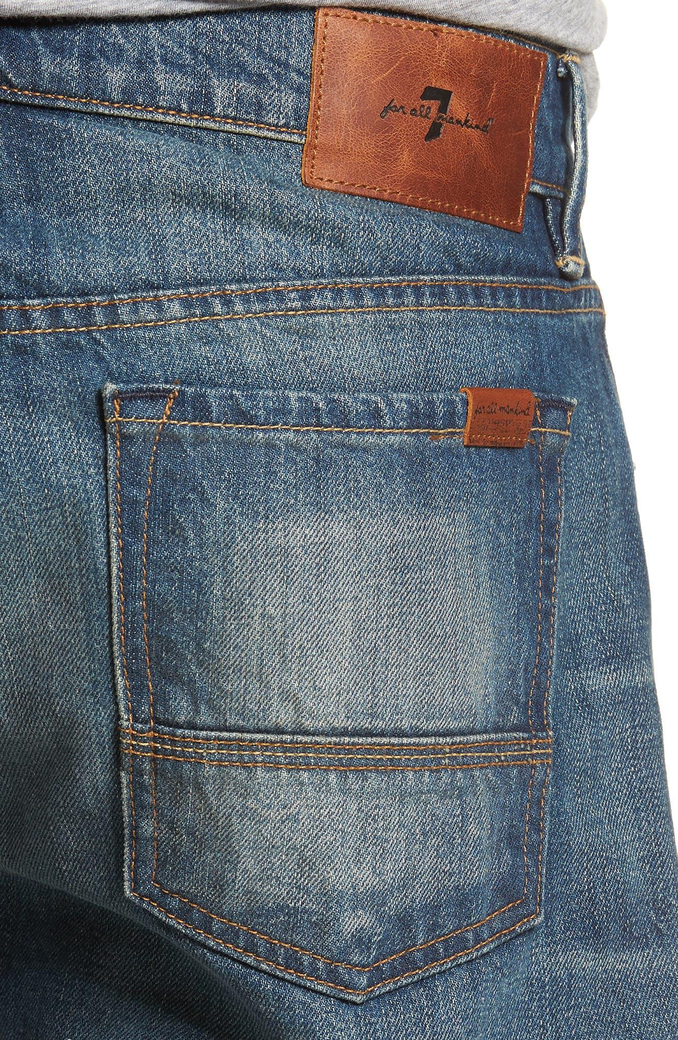 Adrien Slim Fit Jeans,                             Alternate thumbnail 4, color,                             LEGEND