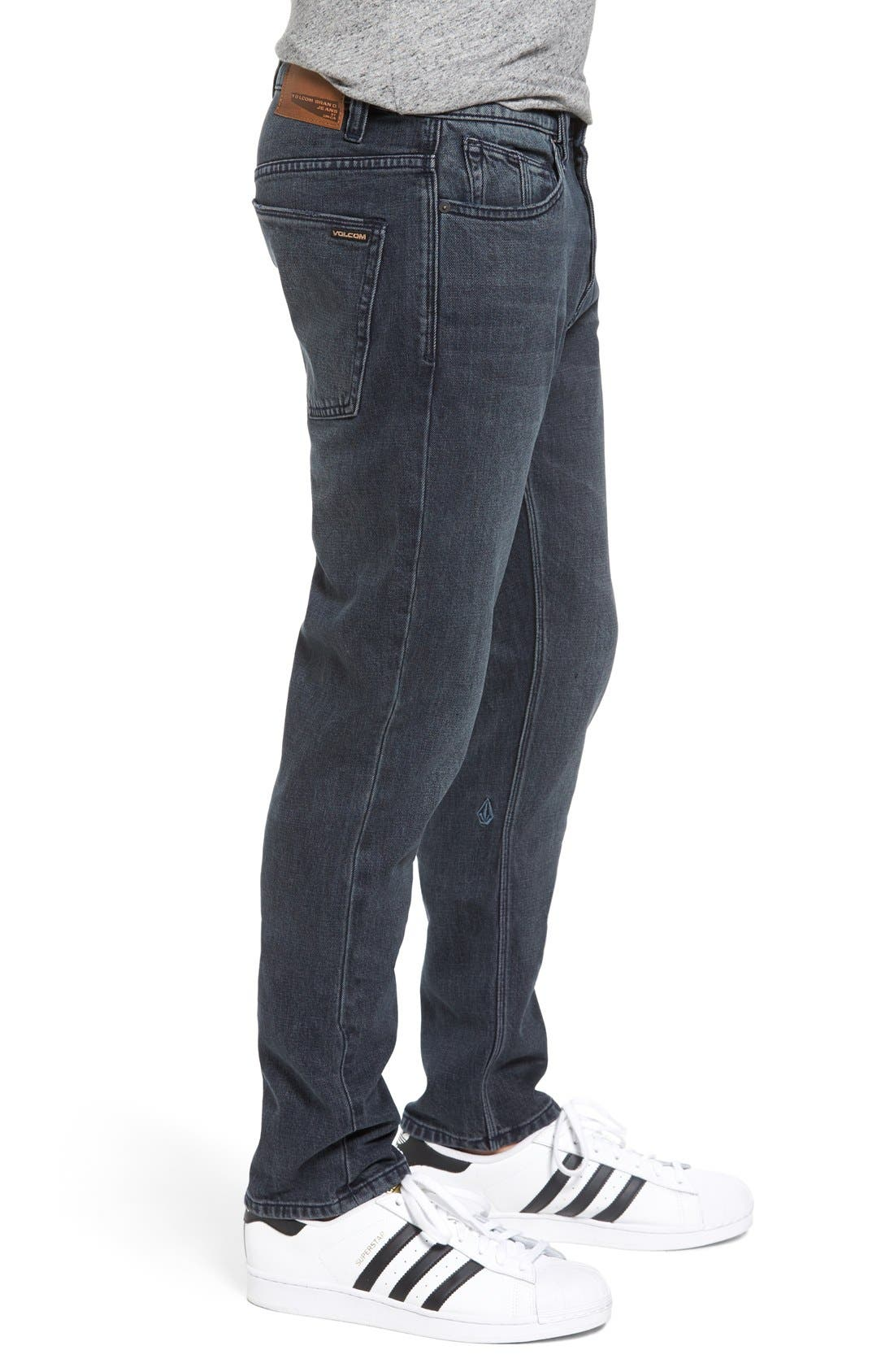 'Solver' Tapered Jeans,                             Alternate thumbnail 7, color,