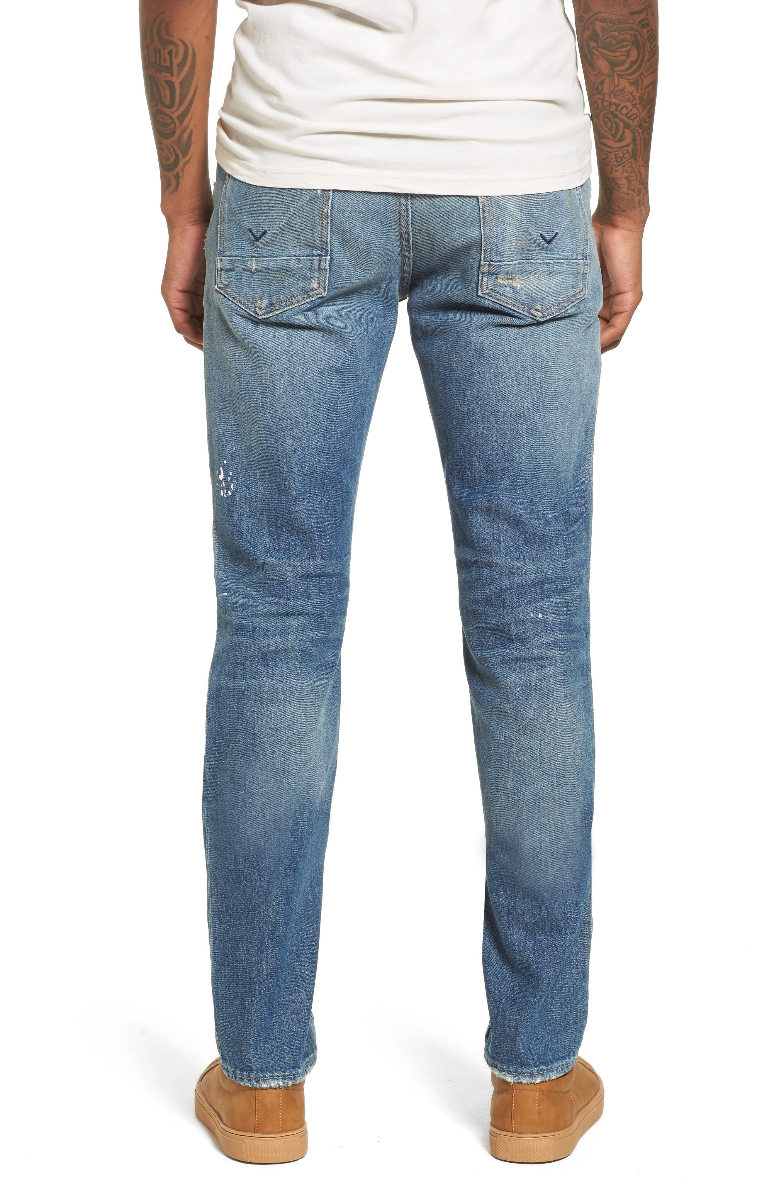 Axl Skinny Fit Jeans,                             Alternate thumbnail 2, color,                             450