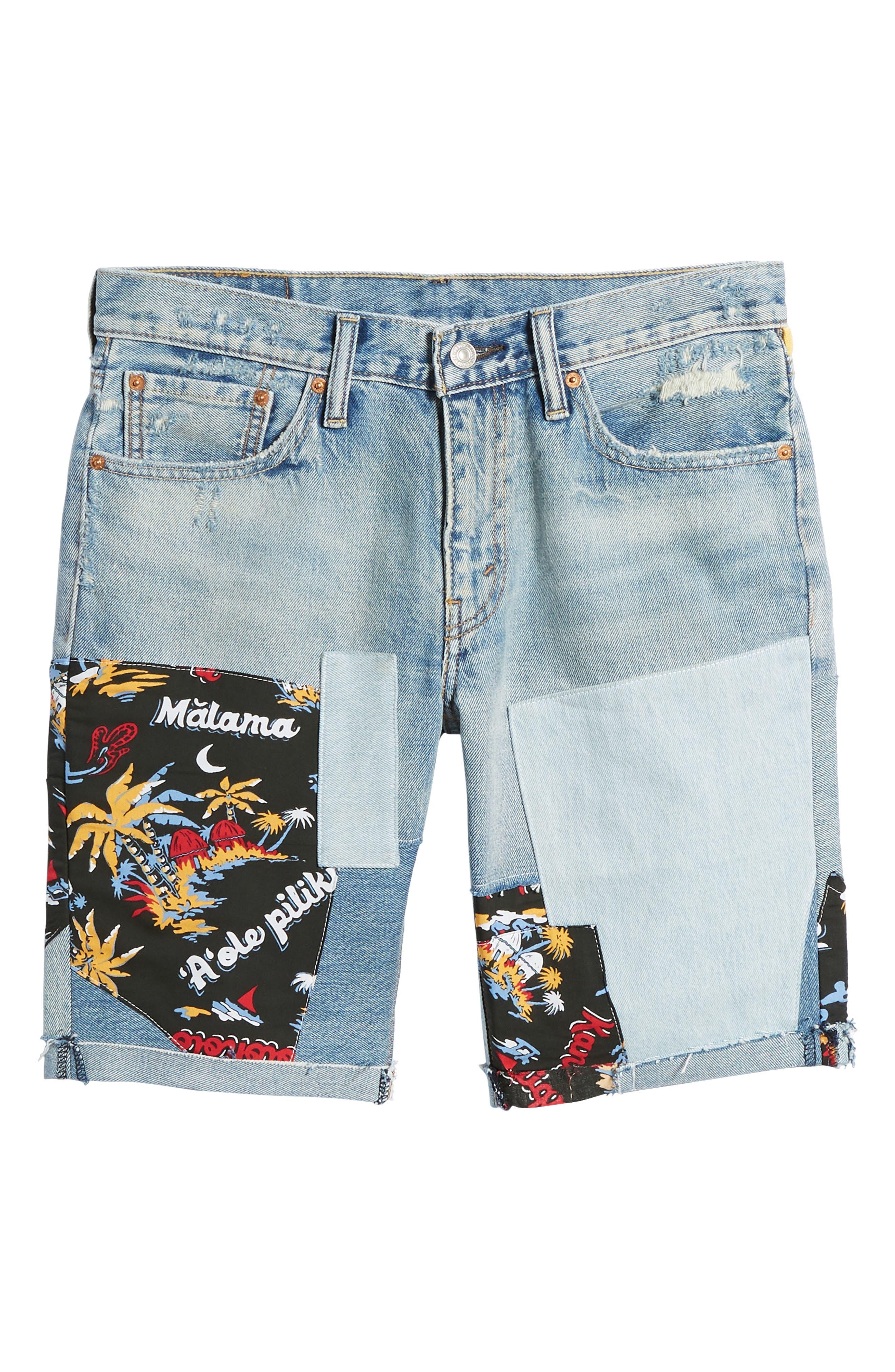 511<sup>®</sup> Cutoff Denim Shorts,                             Alternate thumbnail 6, color,                             420