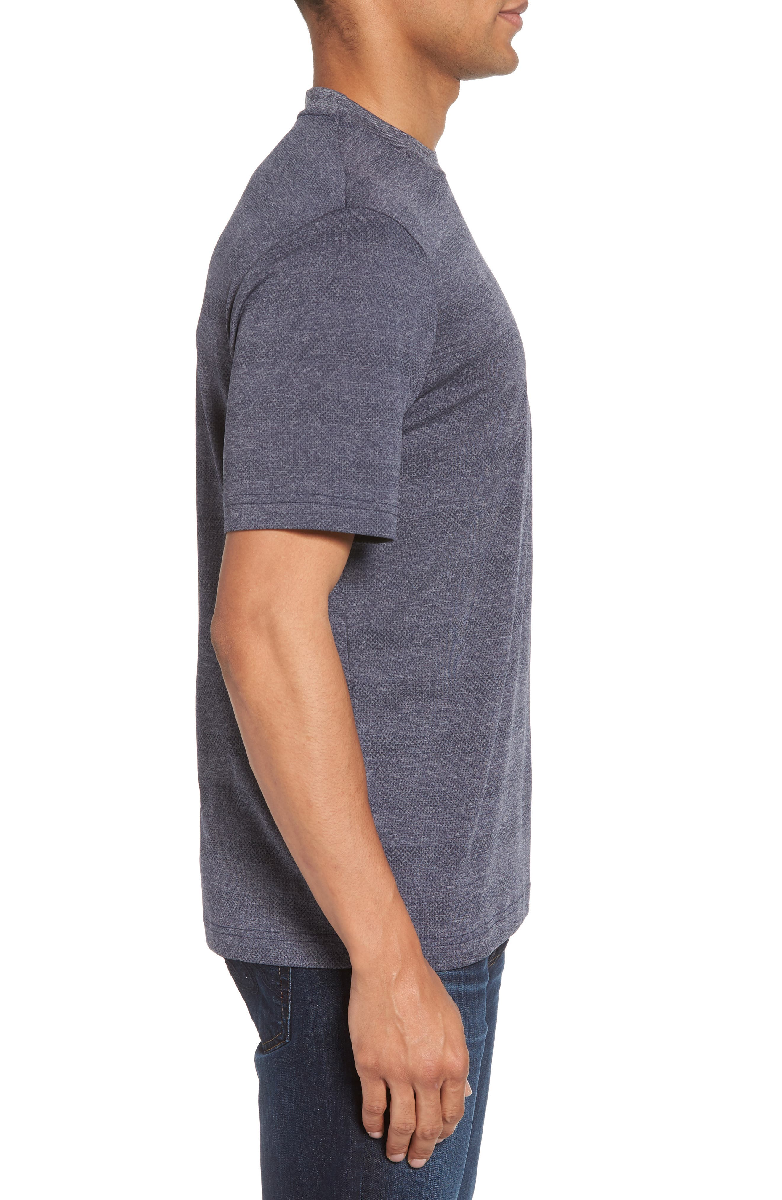 Upshift T-Shirt,                             Alternate thumbnail 3, color,                             HEATHER GRIFFIN
