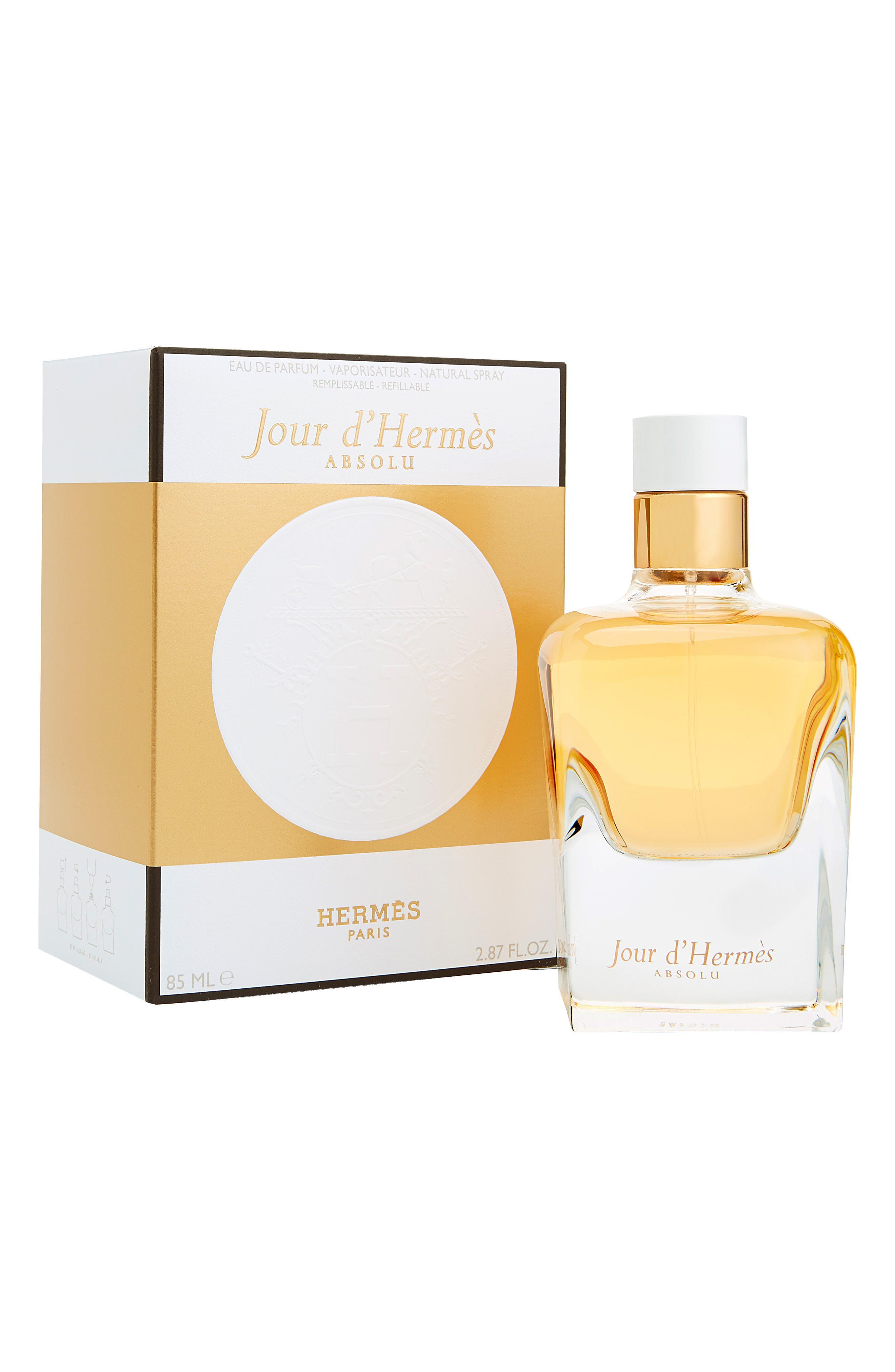 Jour d'Hermès Absolu - Eau de parfum,                             Alternate thumbnail 2, color,                             NO COLOR