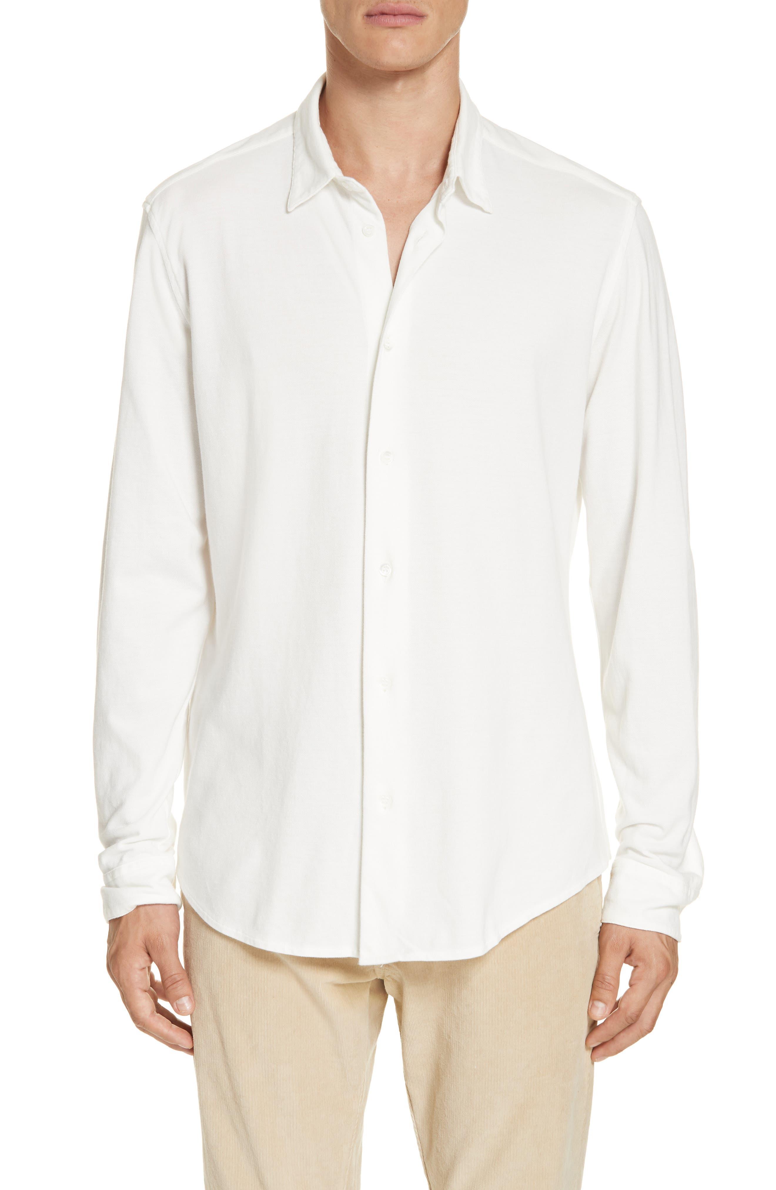 Coppi Tamiso Sport Shirt,                             Main thumbnail 1, color,                             WHITE