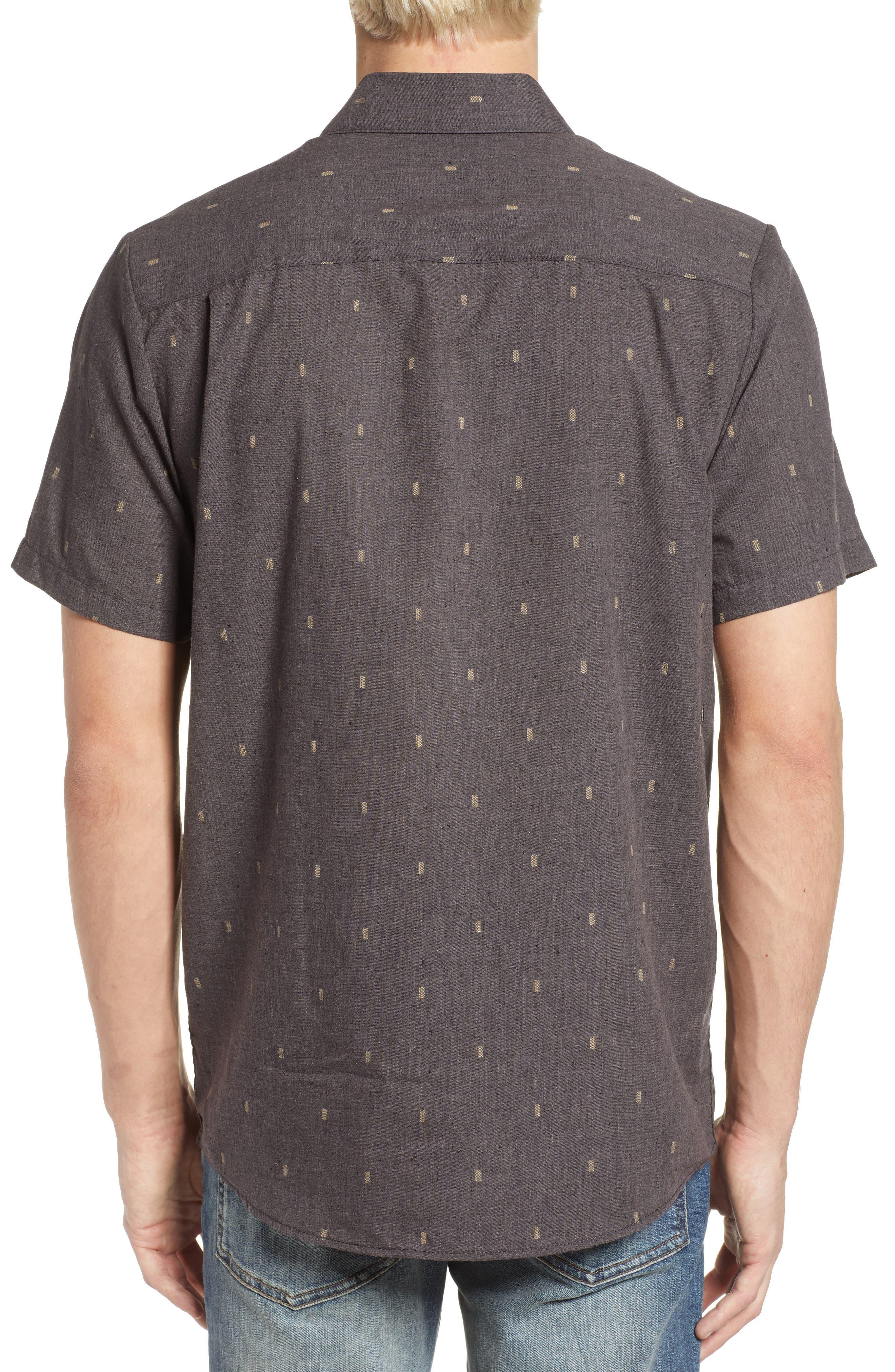 Gladstone Short Sleeve Shirt,                             Alternate thumbnail 2, color,                             001