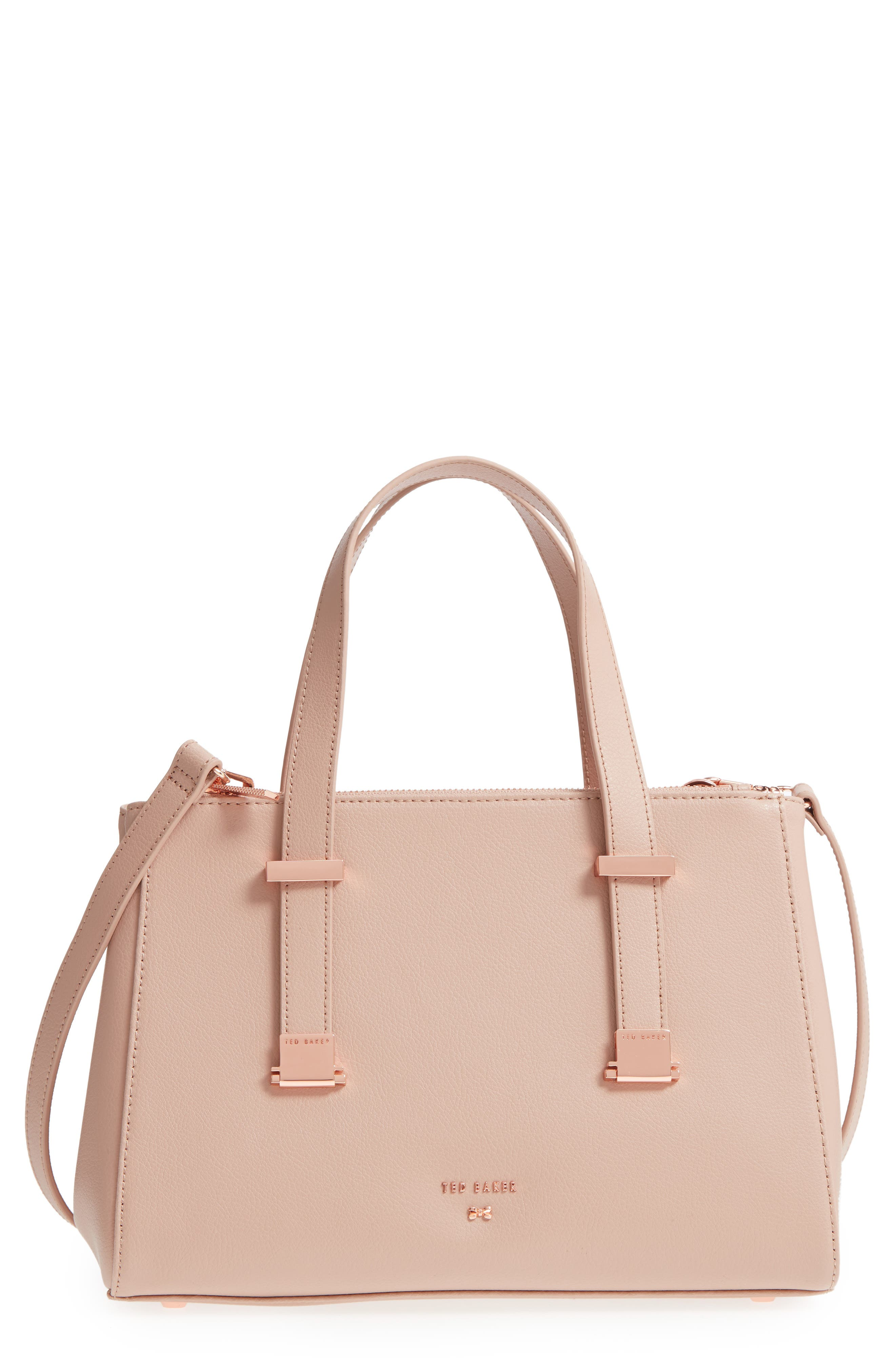 Audreyy Small Adjustable Handle Leather Shopper,                         Main,                         color, 650
