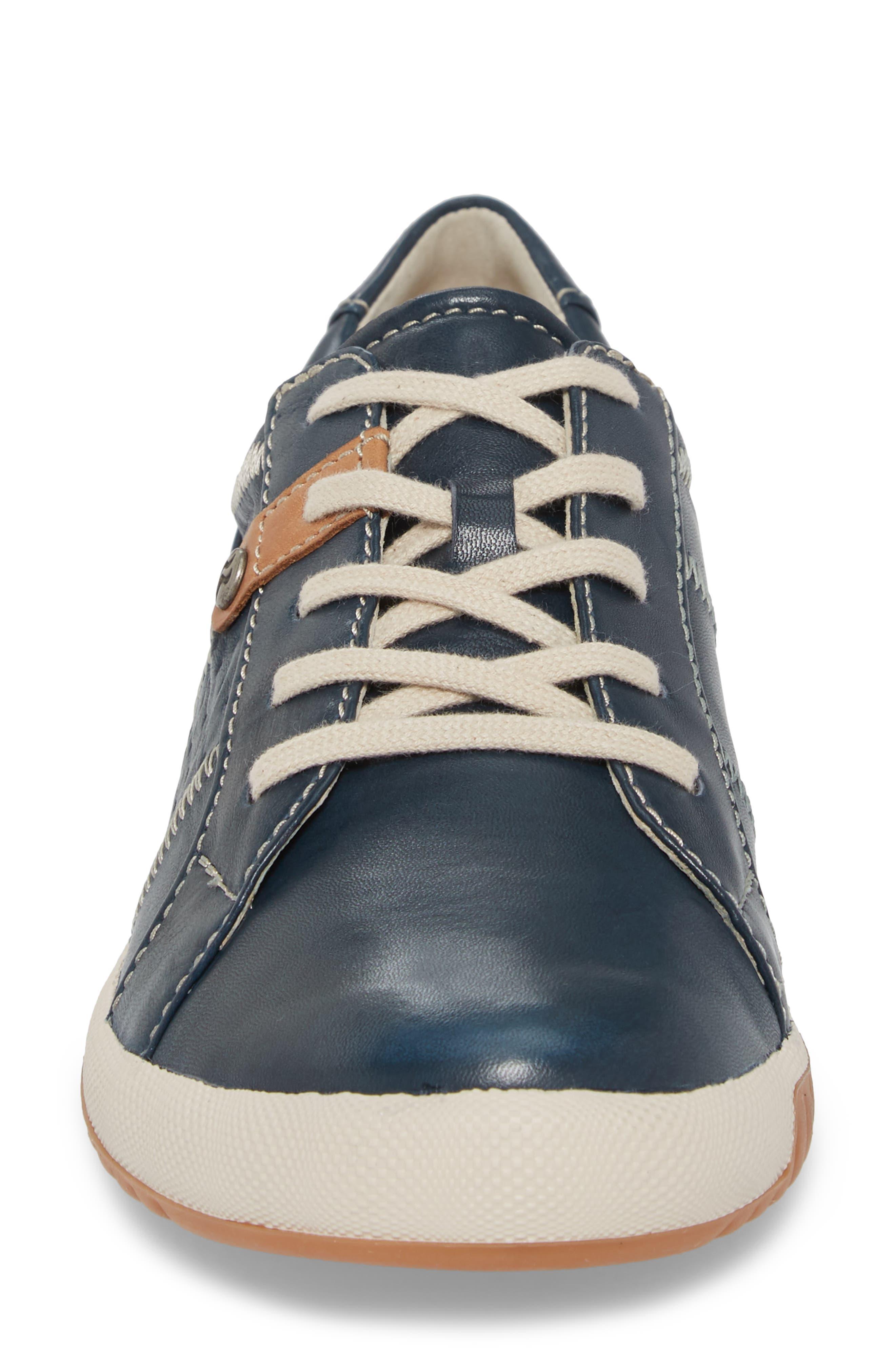 Cordoba 01 Sneaker,                             Alternate thumbnail 4, color,                             OCEAN LEATHER