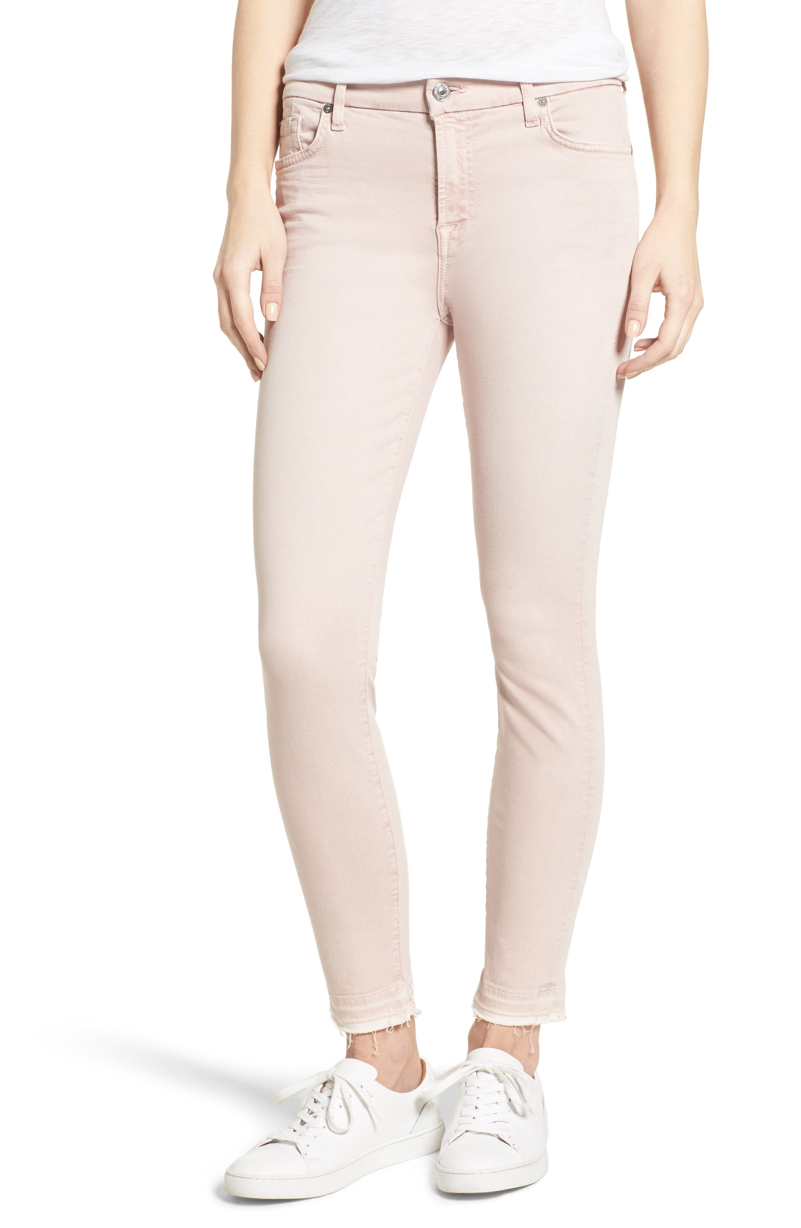 Released Hem Ankle Skinny Jeans,                             Main thumbnail 9, color,