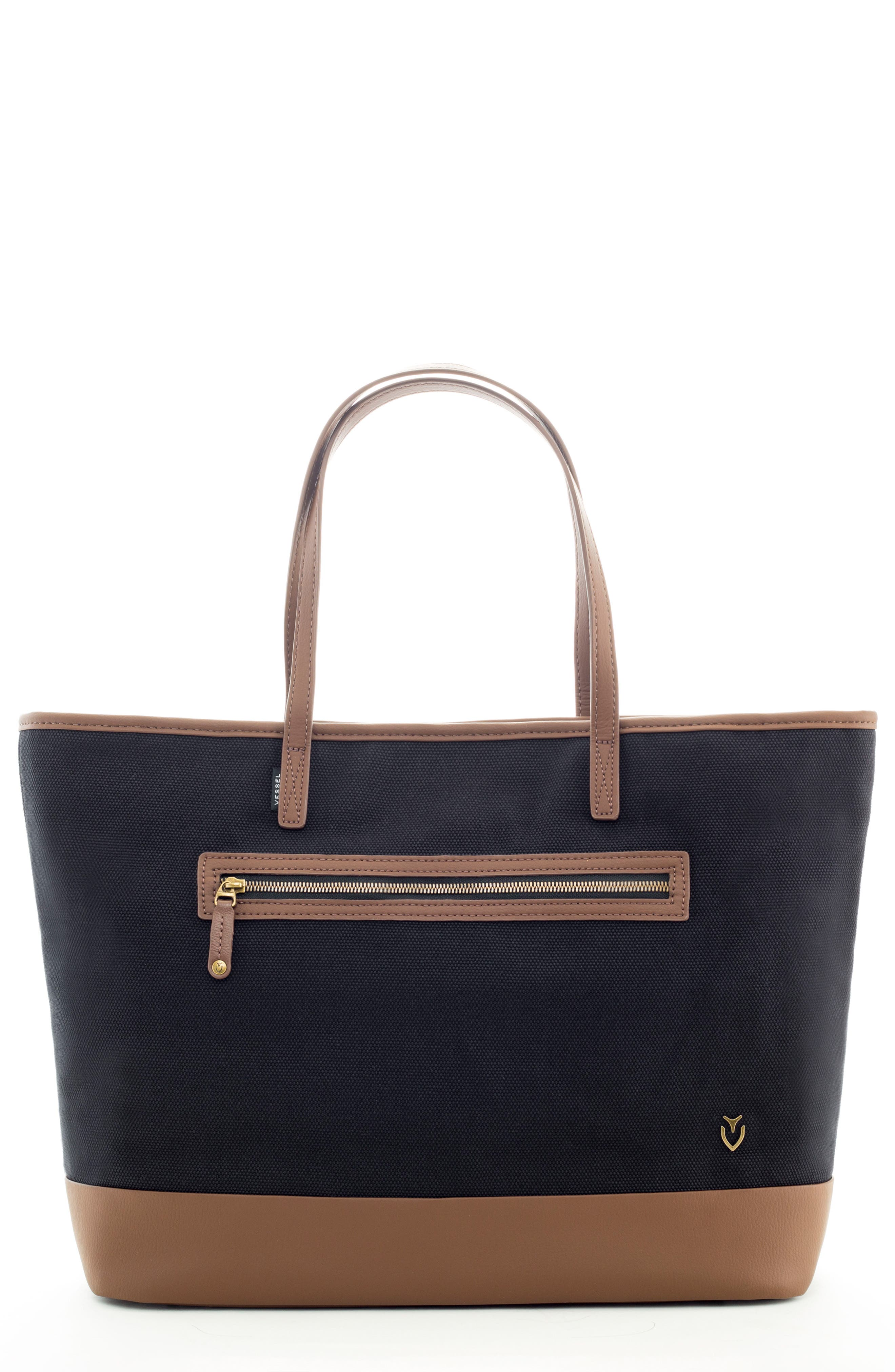 Refined Tote Bag,                         Main,                         color, 001