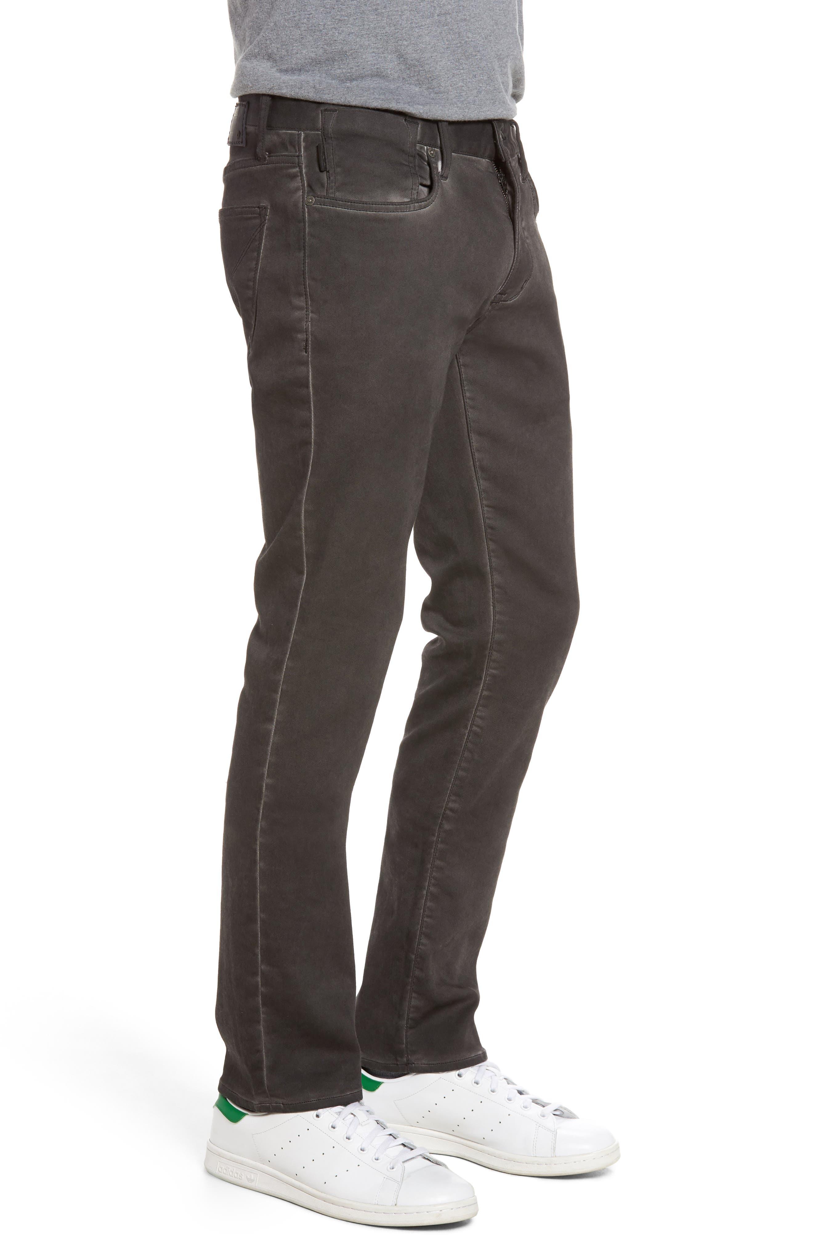 Bowery Slim Straight Leg Jeans,                             Alternate thumbnail 8, color,