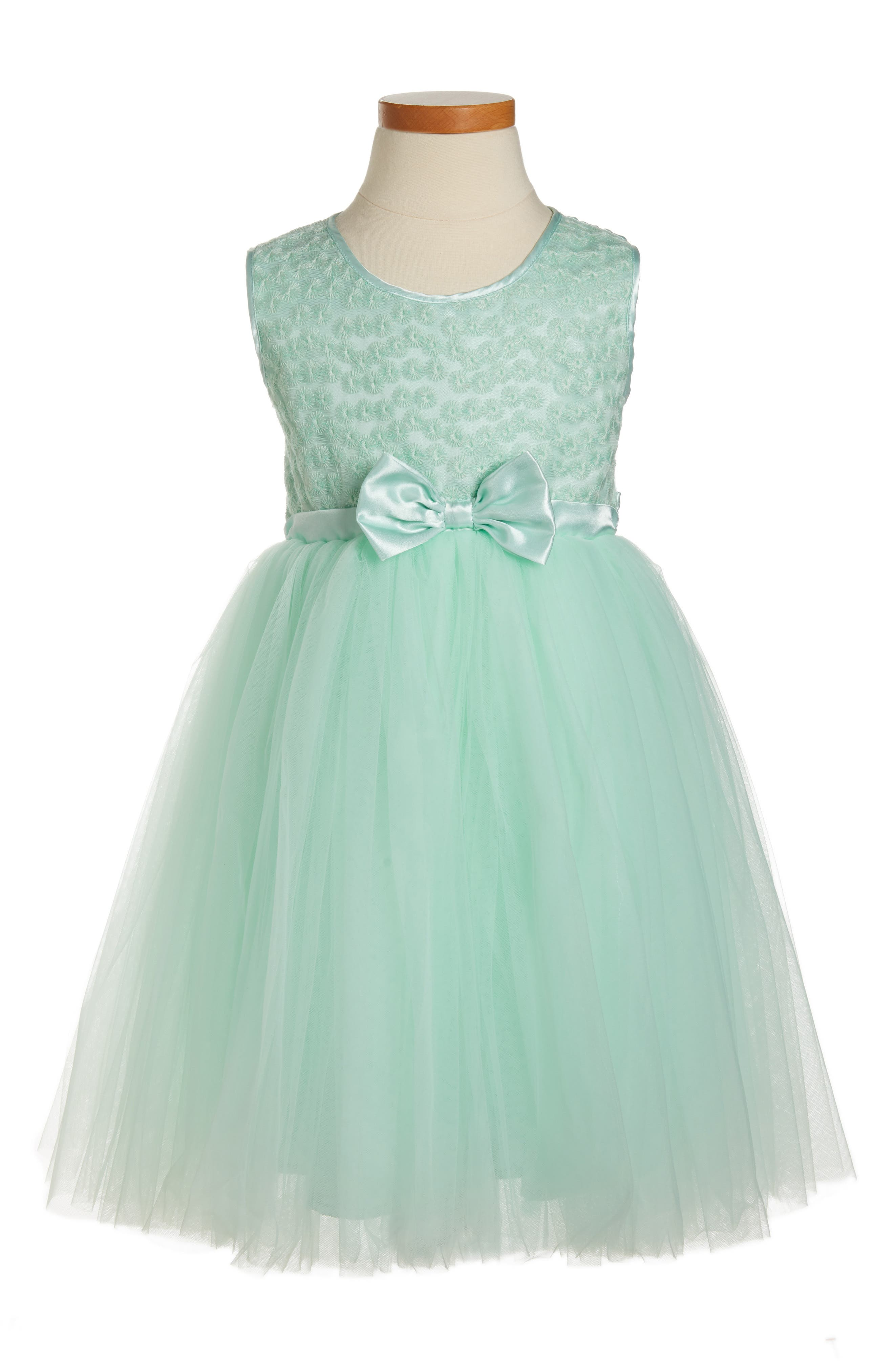 Little Girls Green Dresses