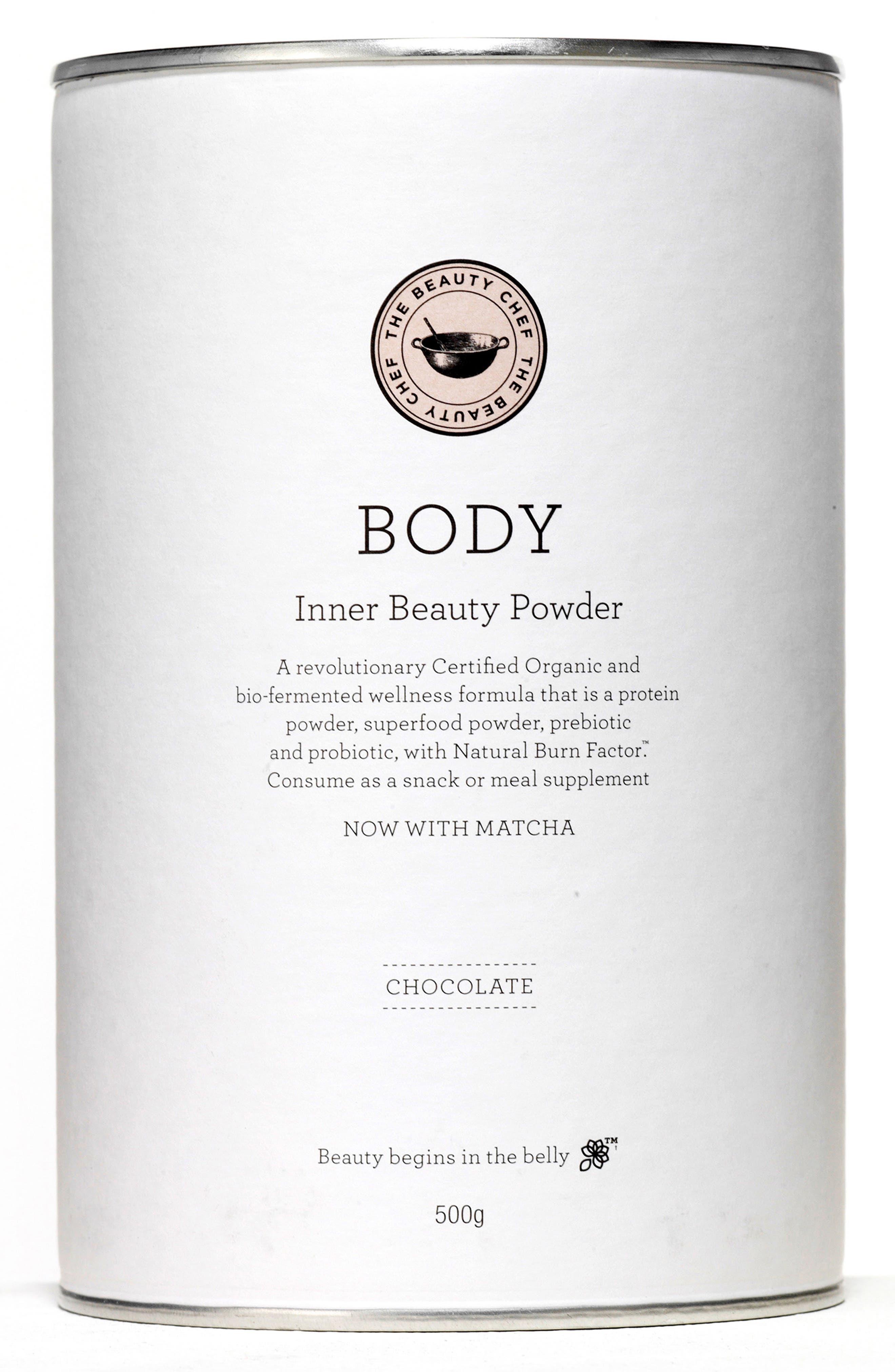 Body Inner Beauty Powder with Matcha,                             Main thumbnail 2, color,
