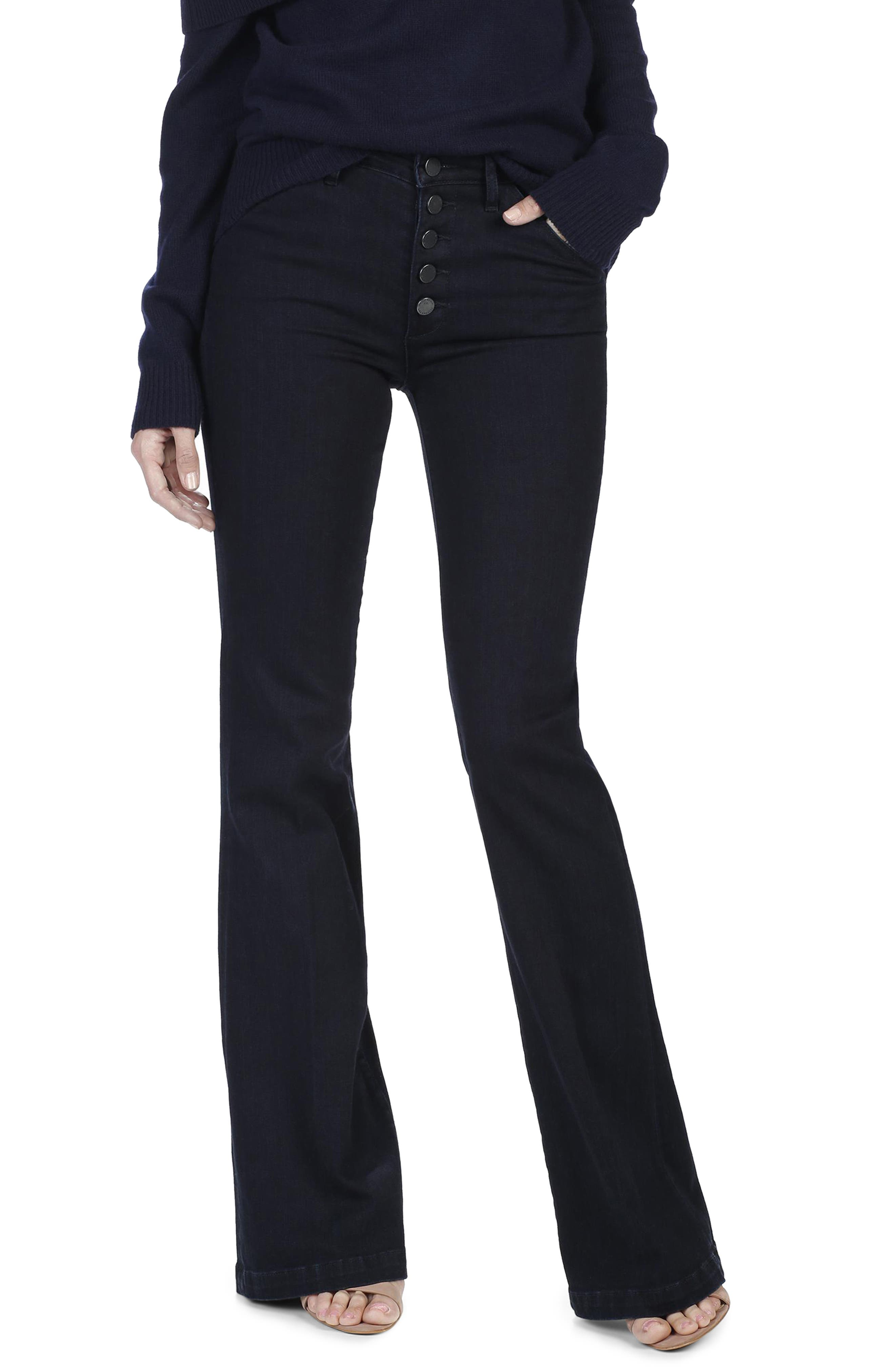 Legacy - Genevieve High Waist Flare Jeans,                             Alternate thumbnail 2, color,                             400