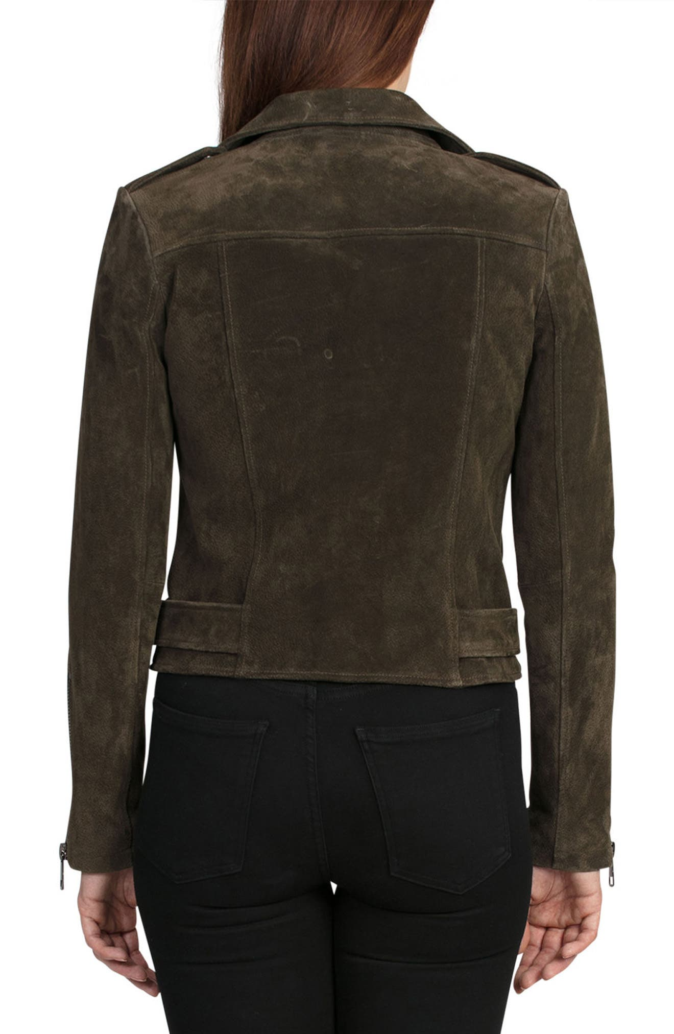NYC  Suede Jacket,                             Alternate thumbnail 12, color,