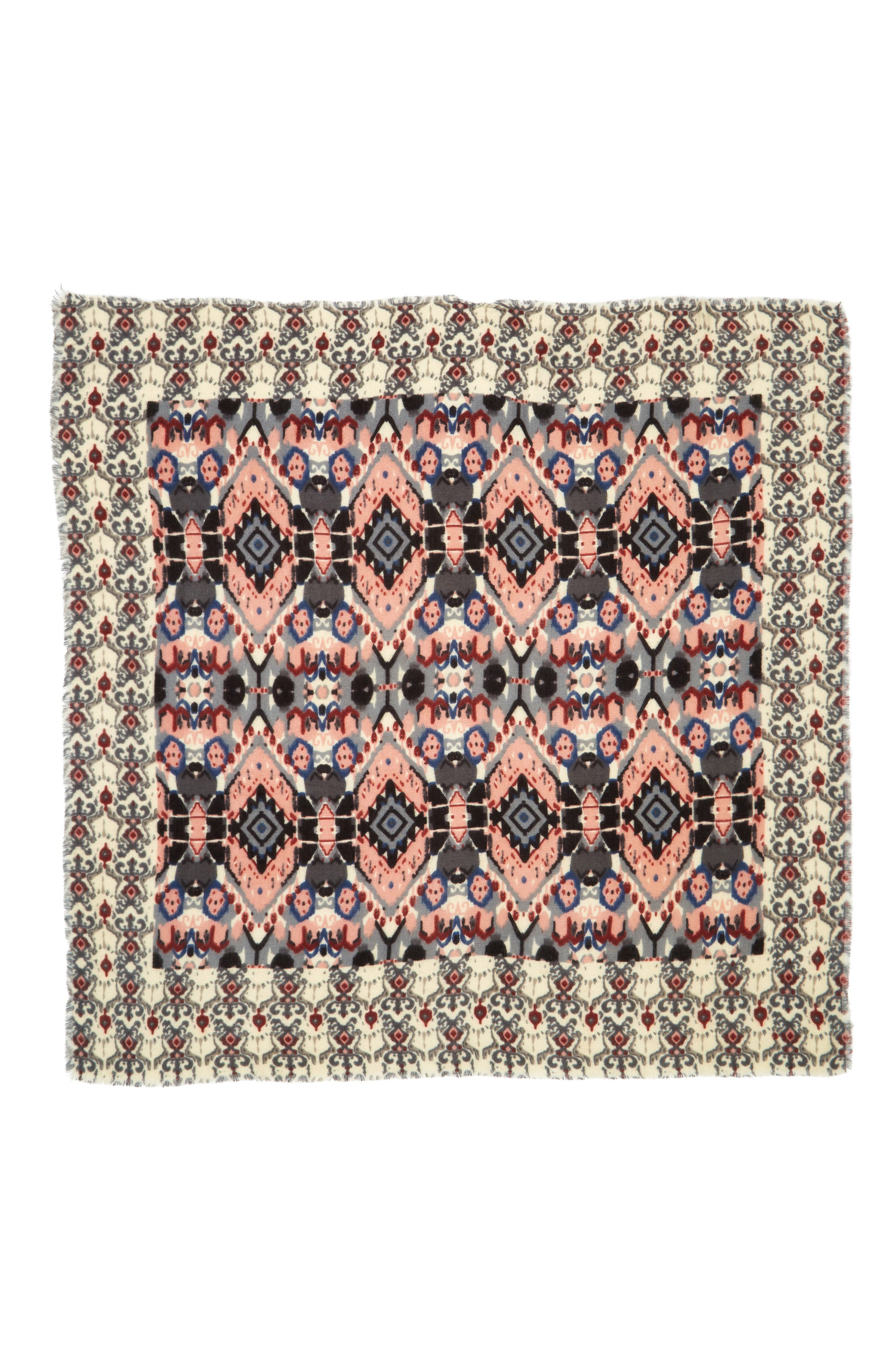 Baroque Pattern Wrap Scarf,                             Alternate thumbnail 2, color,                             692