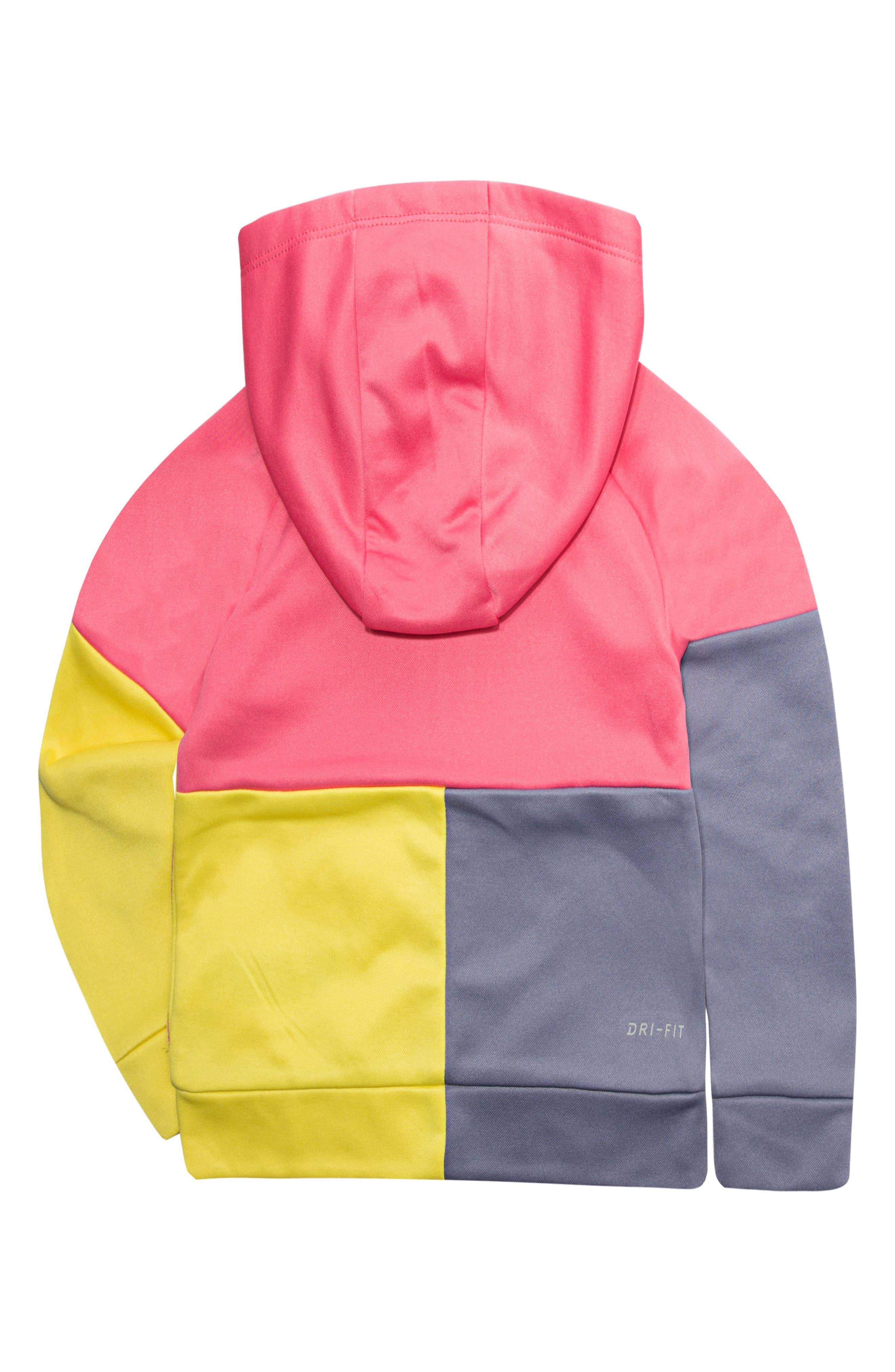Therma Hooded Colorblock Jacket,                             Alternate thumbnail 4, color,