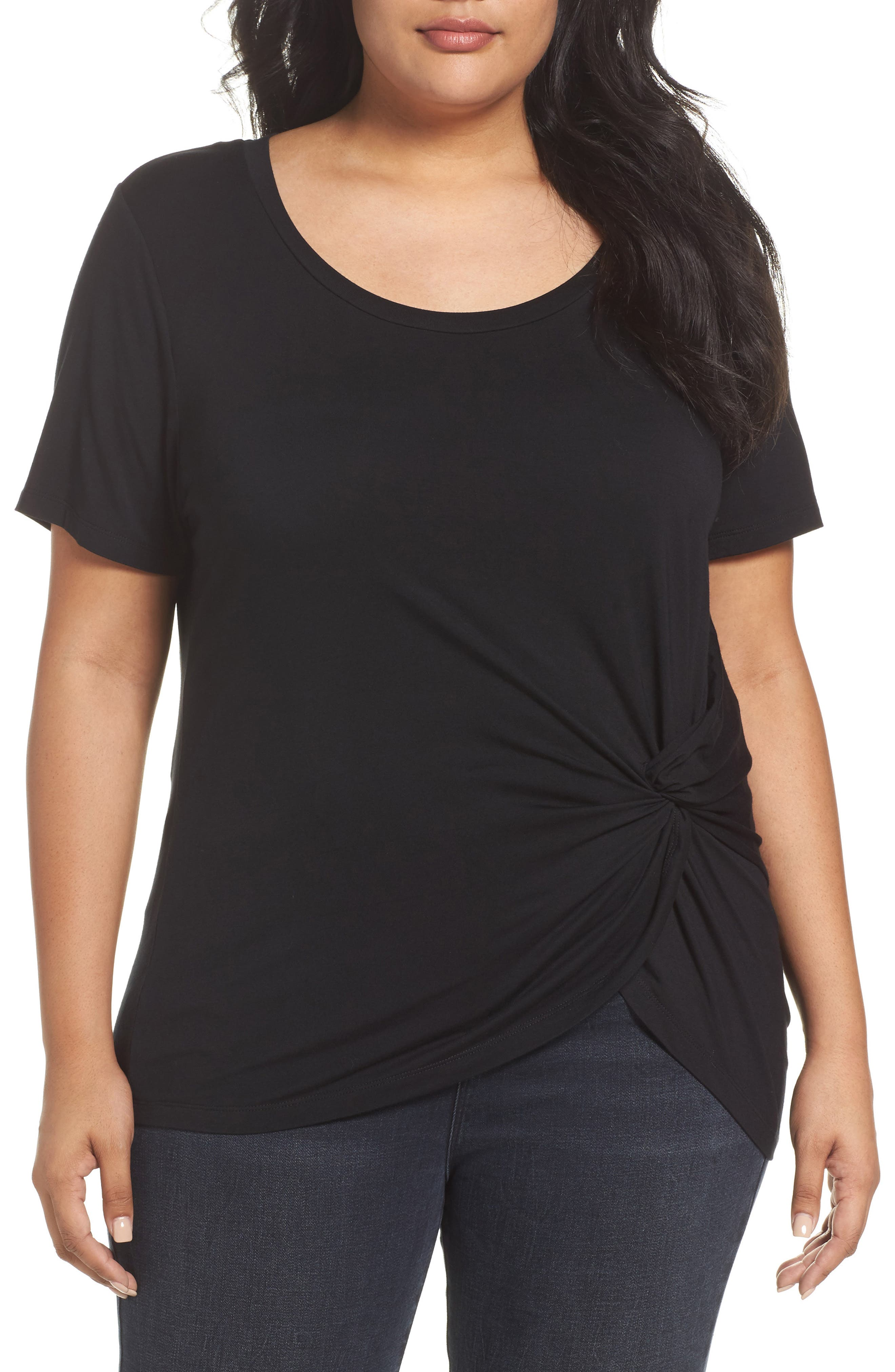 Ruched Top,                         Main,                         color, 002