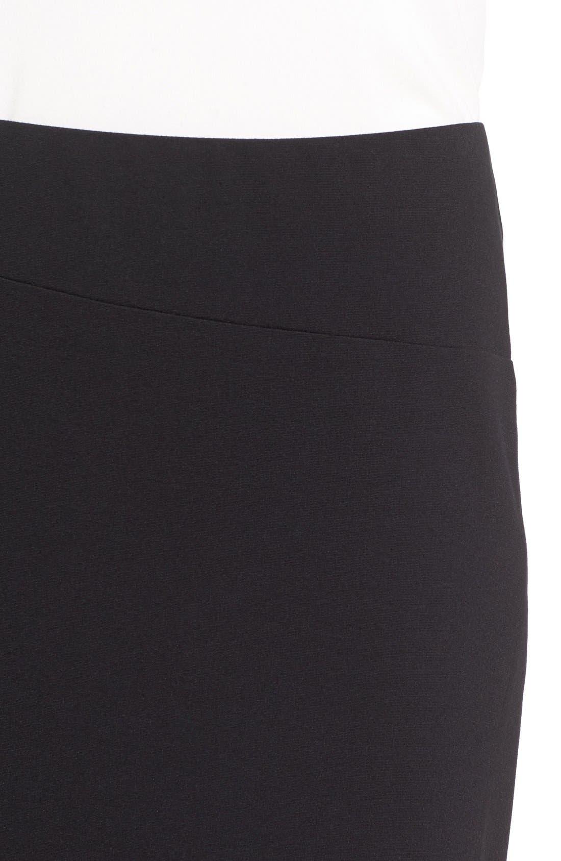 Slit Pencil Skirt,                             Alternate thumbnail 4, color,                             006