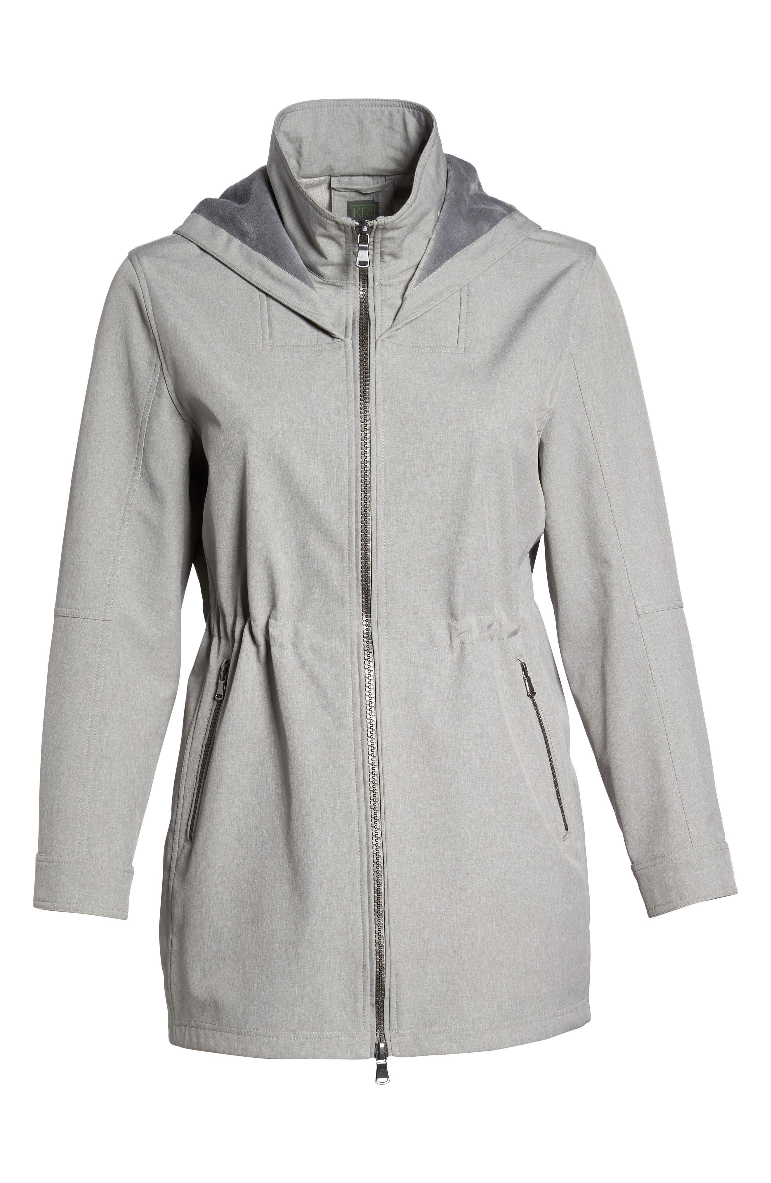 Two-Layer Tech Raincoat,                             Alternate thumbnail 6, color,                             043