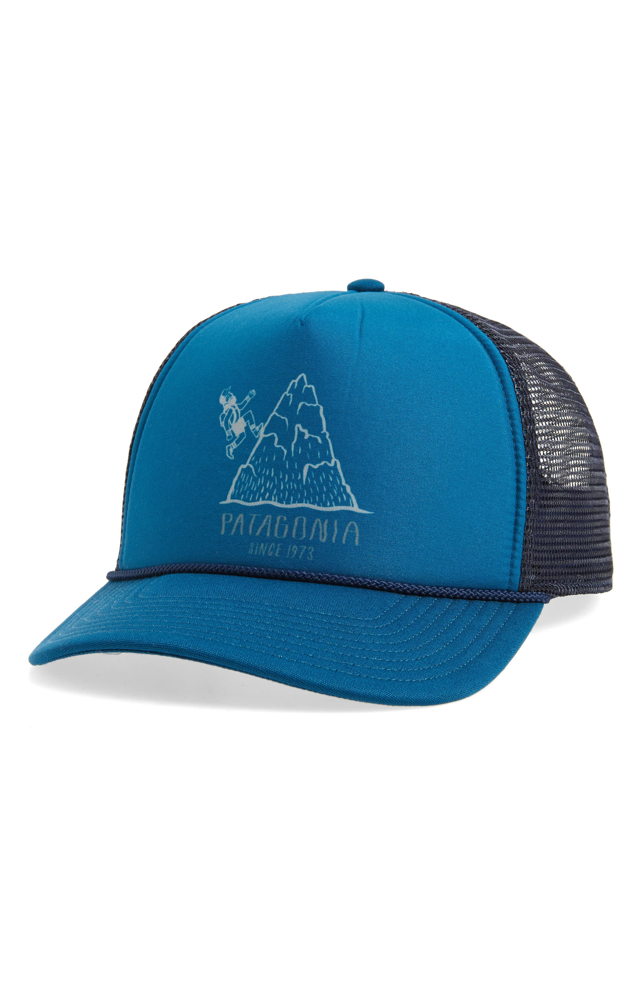 Hoofin' It Interstate Trucker Hat,                             Main thumbnail 1, color,                             400