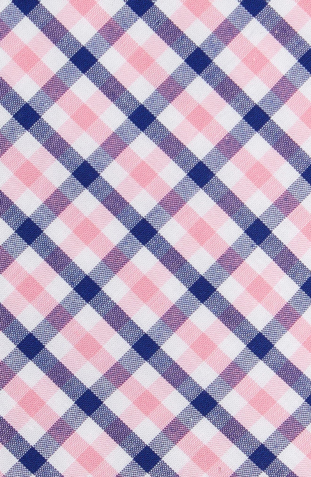 Robin Diamond Check Skinny Tie,                             Alternate thumbnail 9, color,