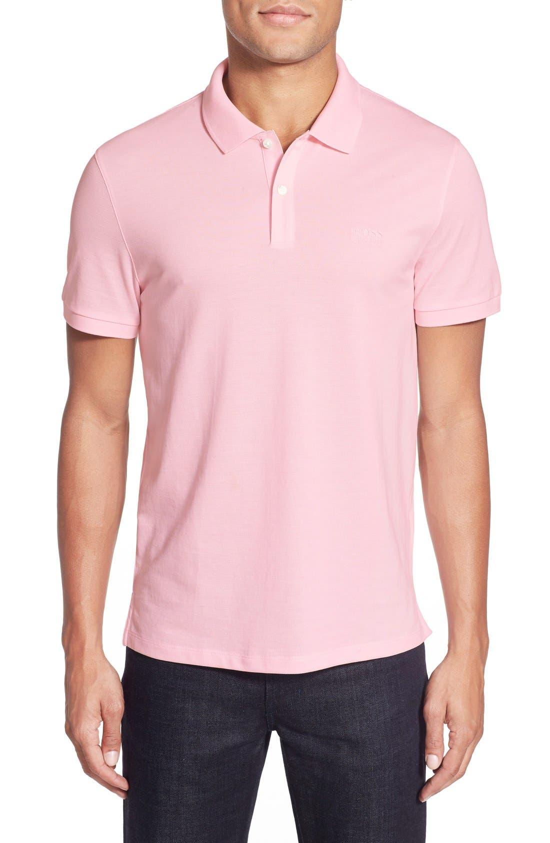'Pallas' Regular Fit Logo Embroidered Polo Shirt,                             Main thumbnail 17, color,