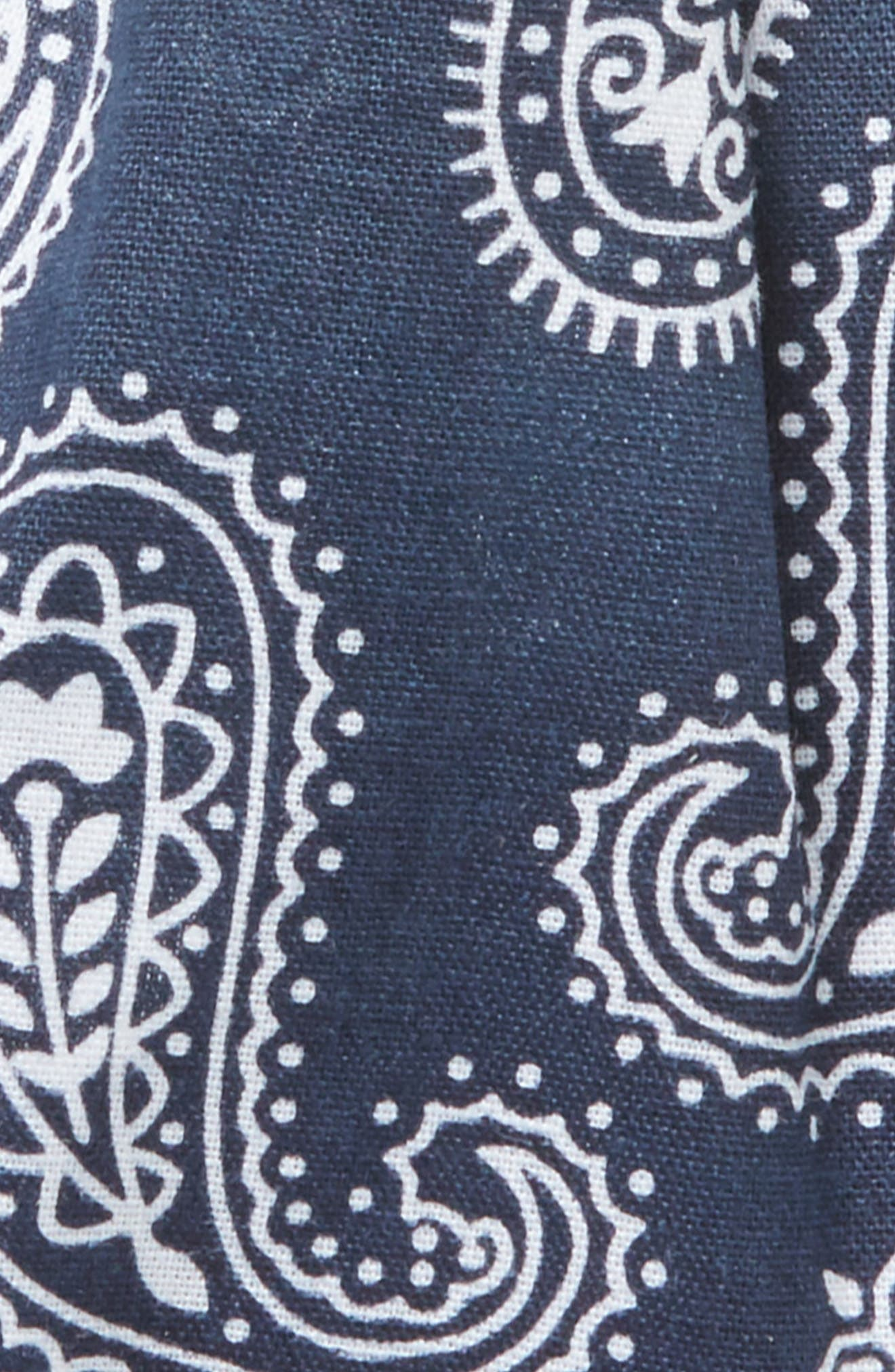 Paisley Petal Twist Head Wrap,                             Alternate thumbnail 2, color,