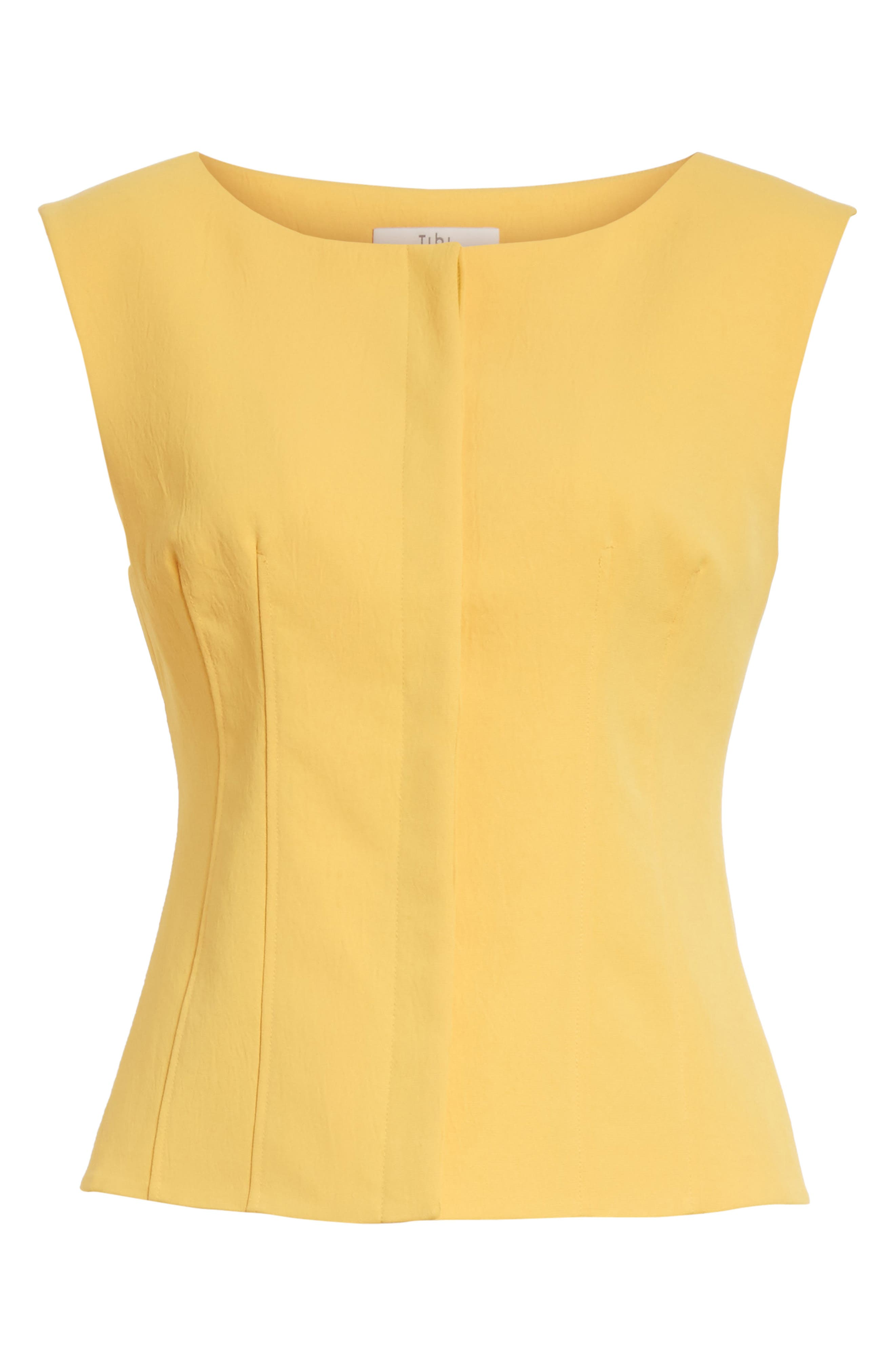 Sleeveless Corset Top,                             Alternate thumbnail 6, color,