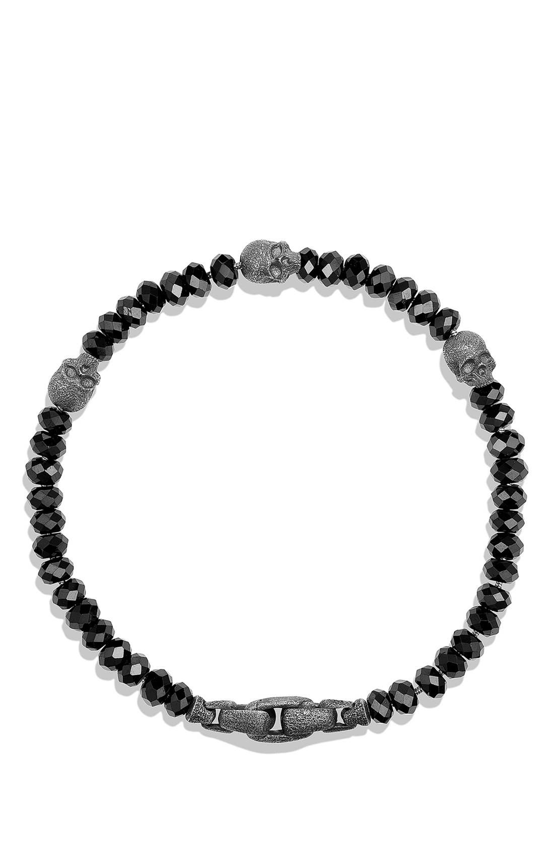 'Spiritual Beads' Skull Bracelet,                             Alternate thumbnail 2, color,                             005