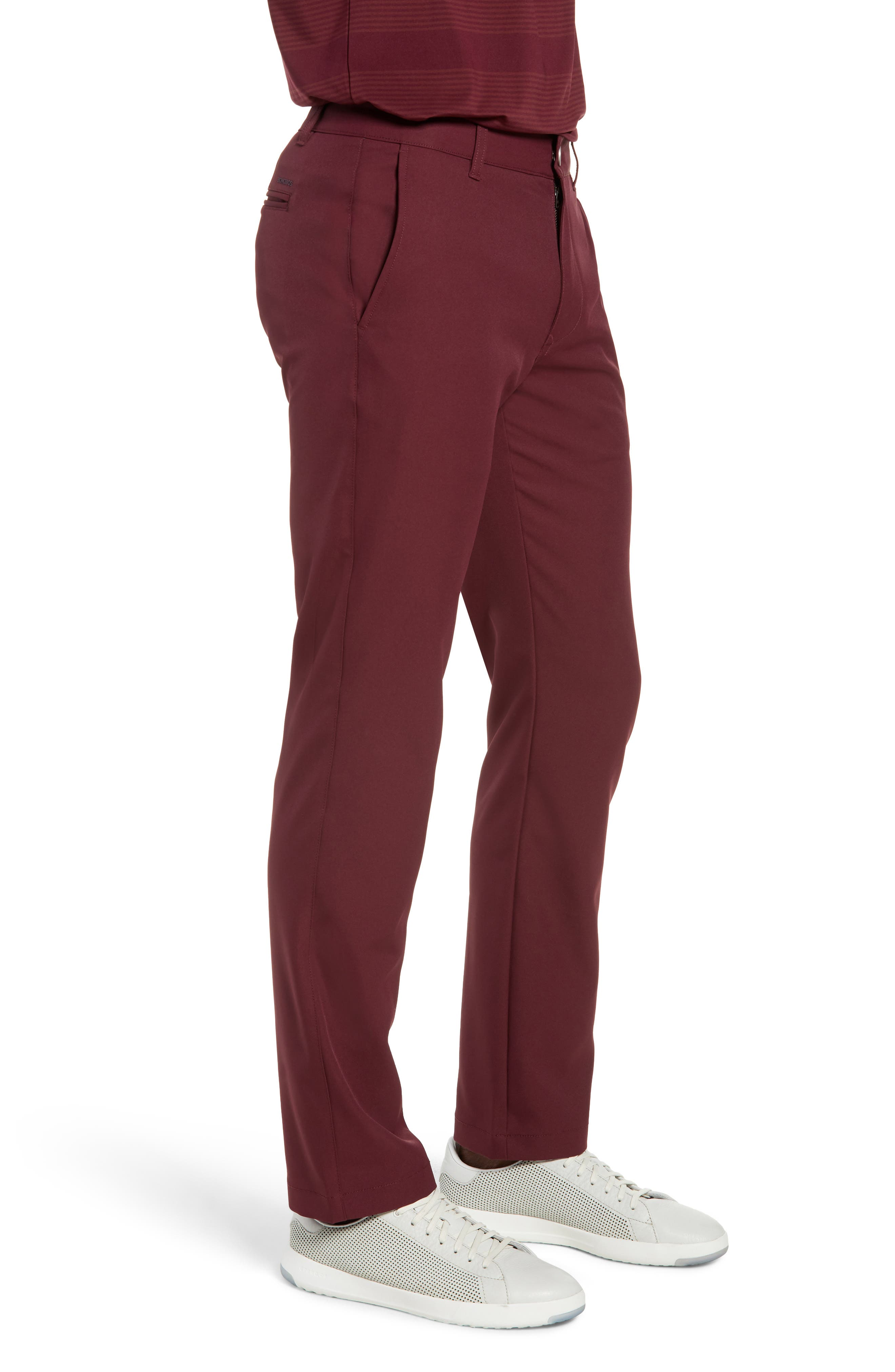 Highland Slim Fit Golf Pants,                             Alternate thumbnail 3, color,                             600