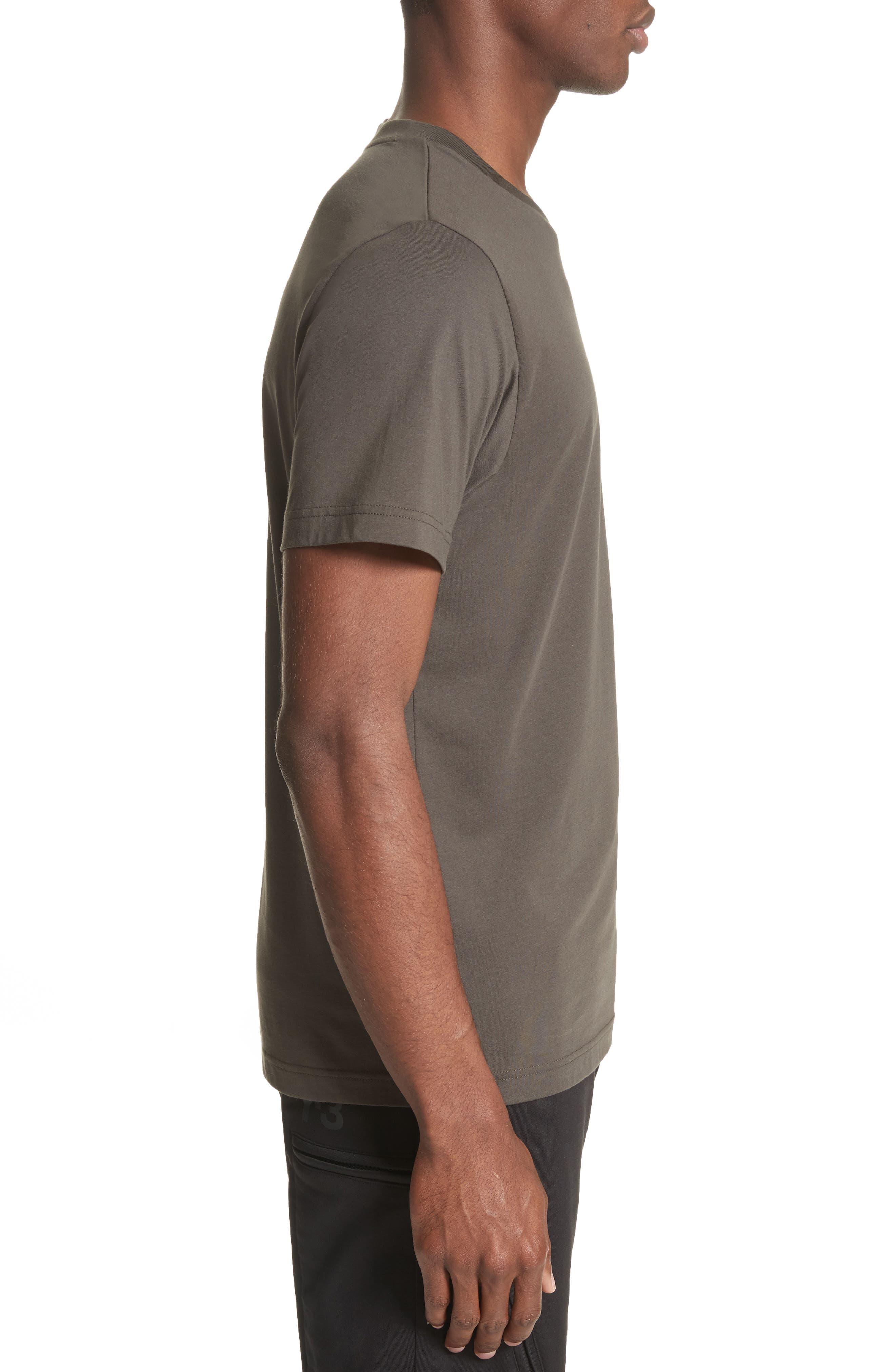 Classic Logo T-Shirt,                             Alternate thumbnail 3, color,                             001