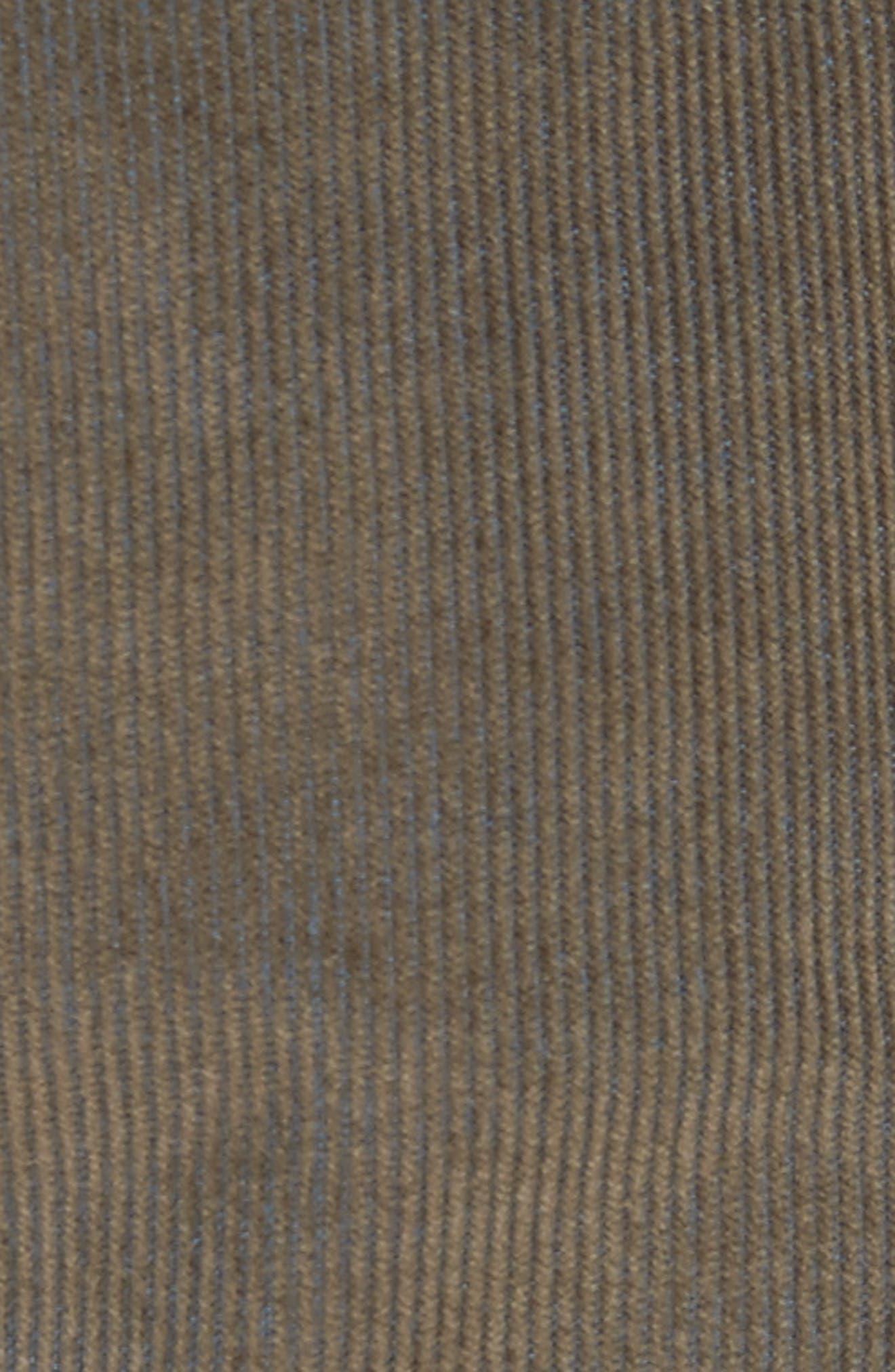 Second Cut Sludge Corduroy Pants,                             Alternate thumbnail 5, color,                             301