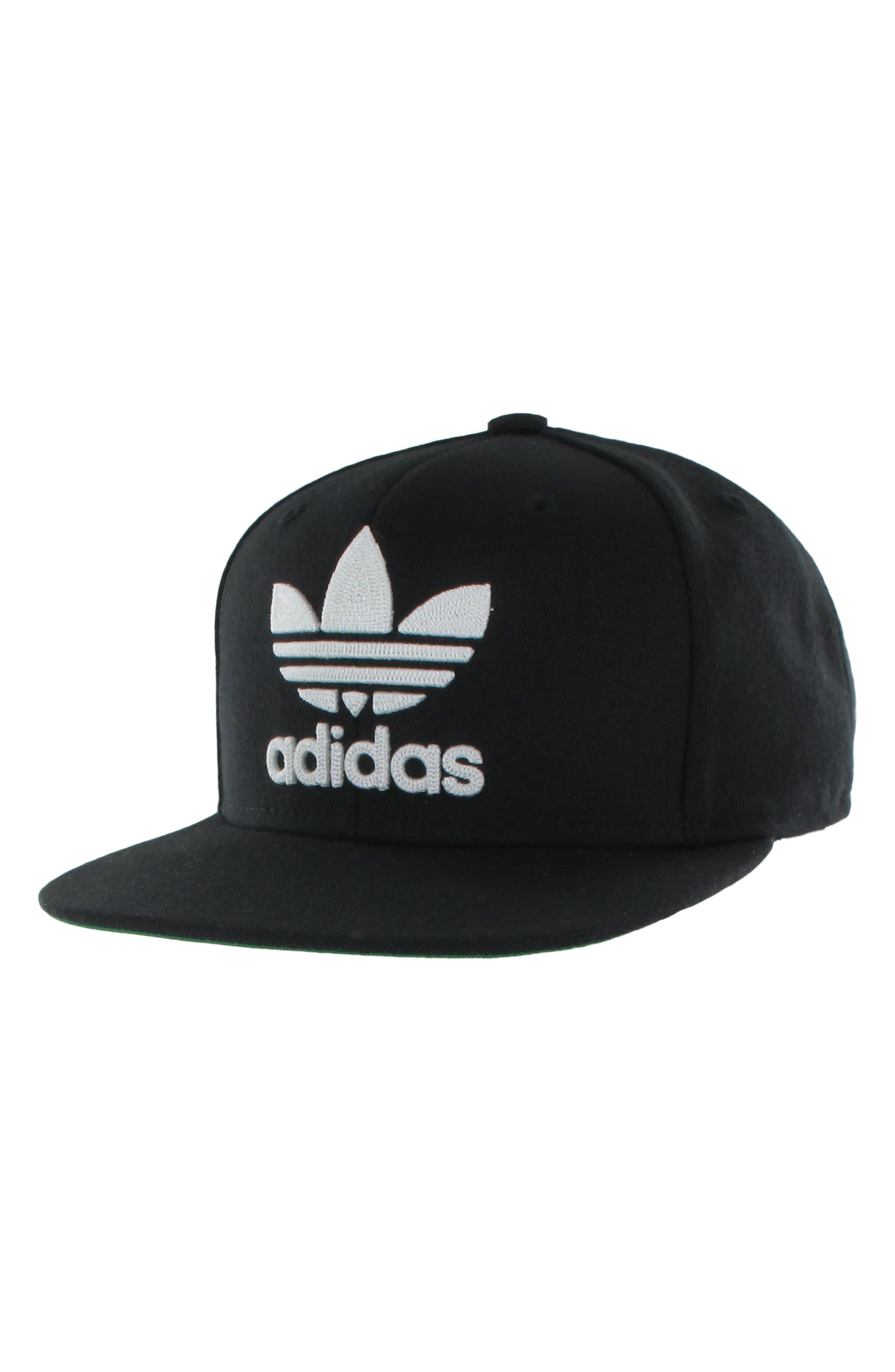 Originals Snapback Hat,                         Main,                         color, BLACK/ WHITE