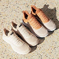 APL sneakers in two colors.