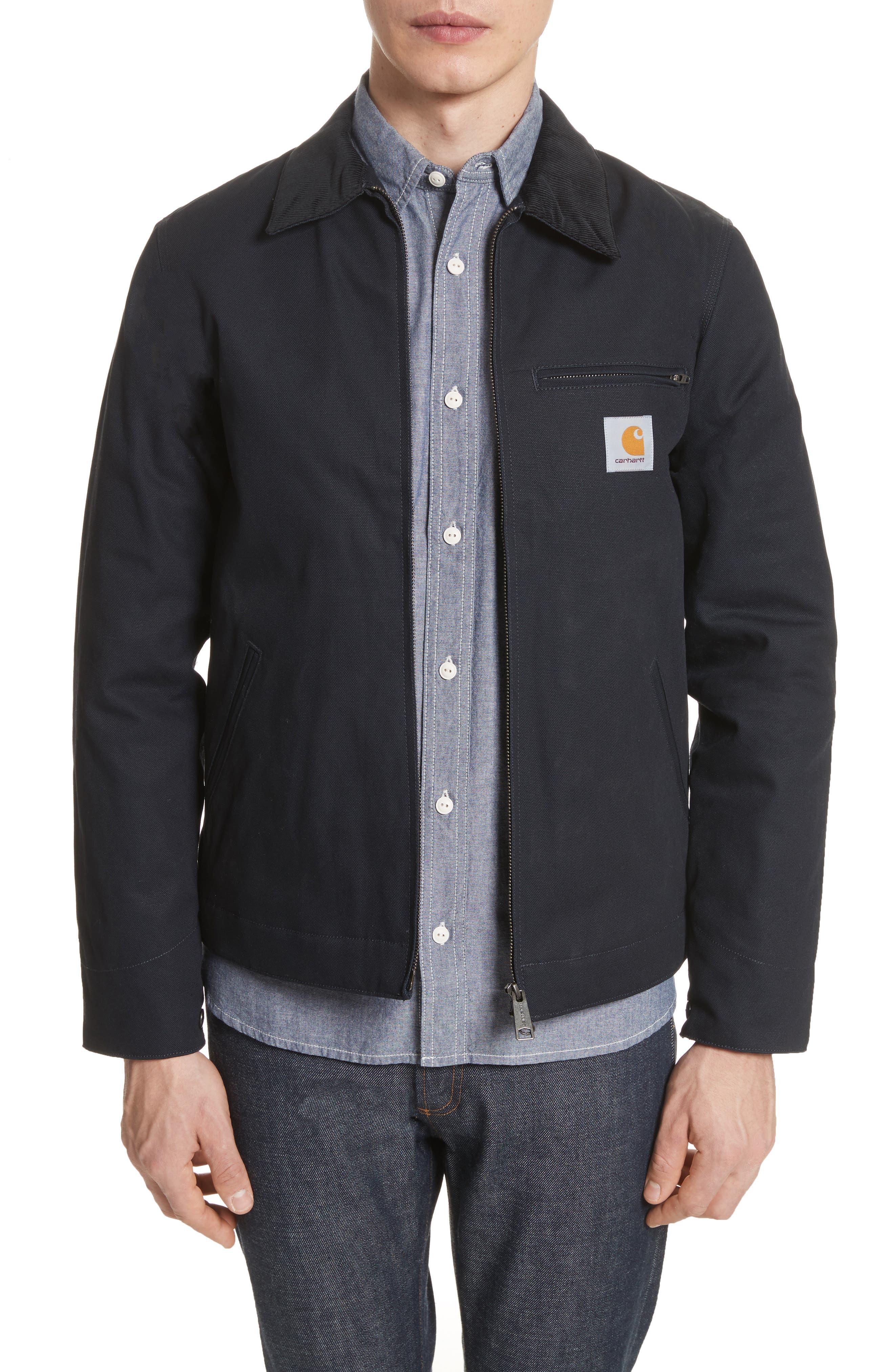Detroit Canvas Work Jacket,                         Main,                         color, 405