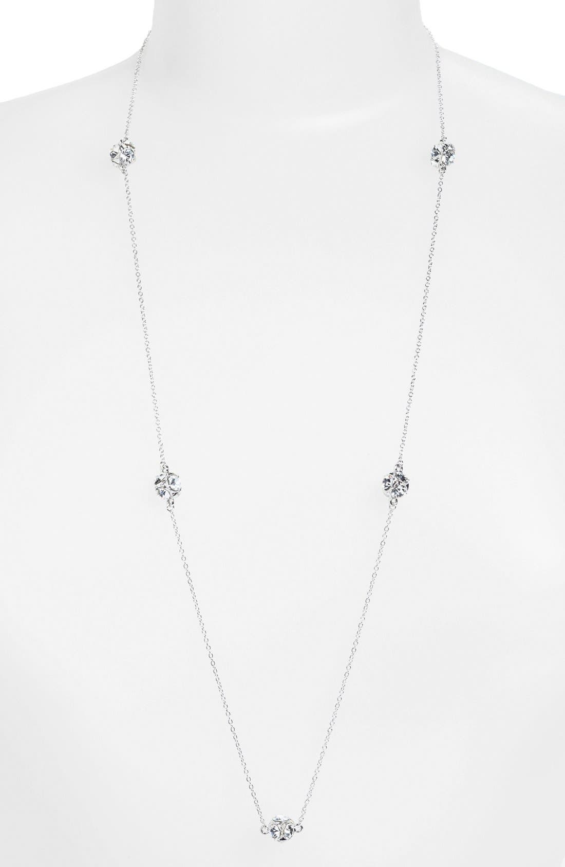 'lady marmalade' long station necklace,                             Alternate thumbnail 2, color,                             040