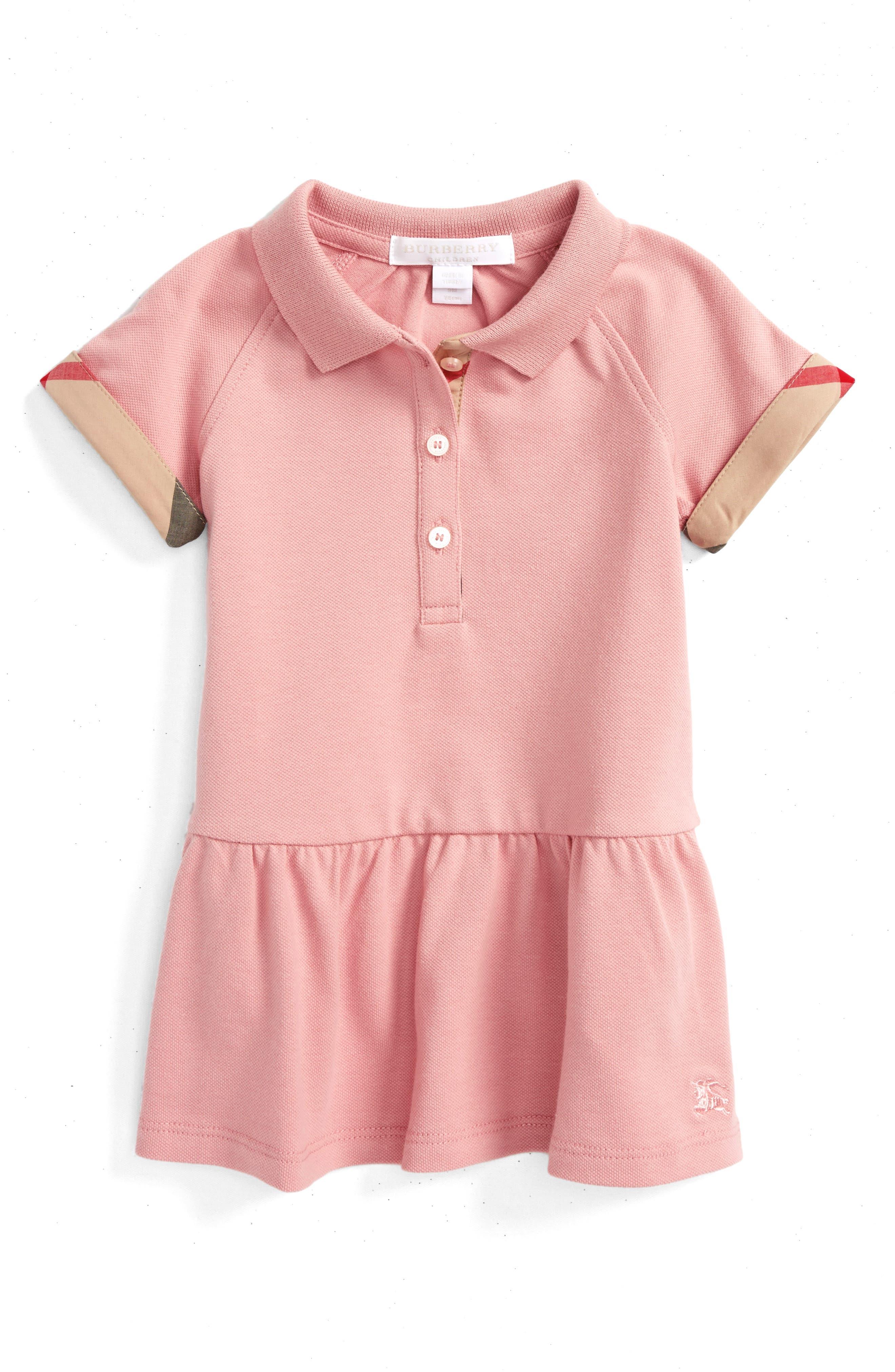 'Mini Cali' Polo Dress,                             Alternate thumbnail 10, color,
