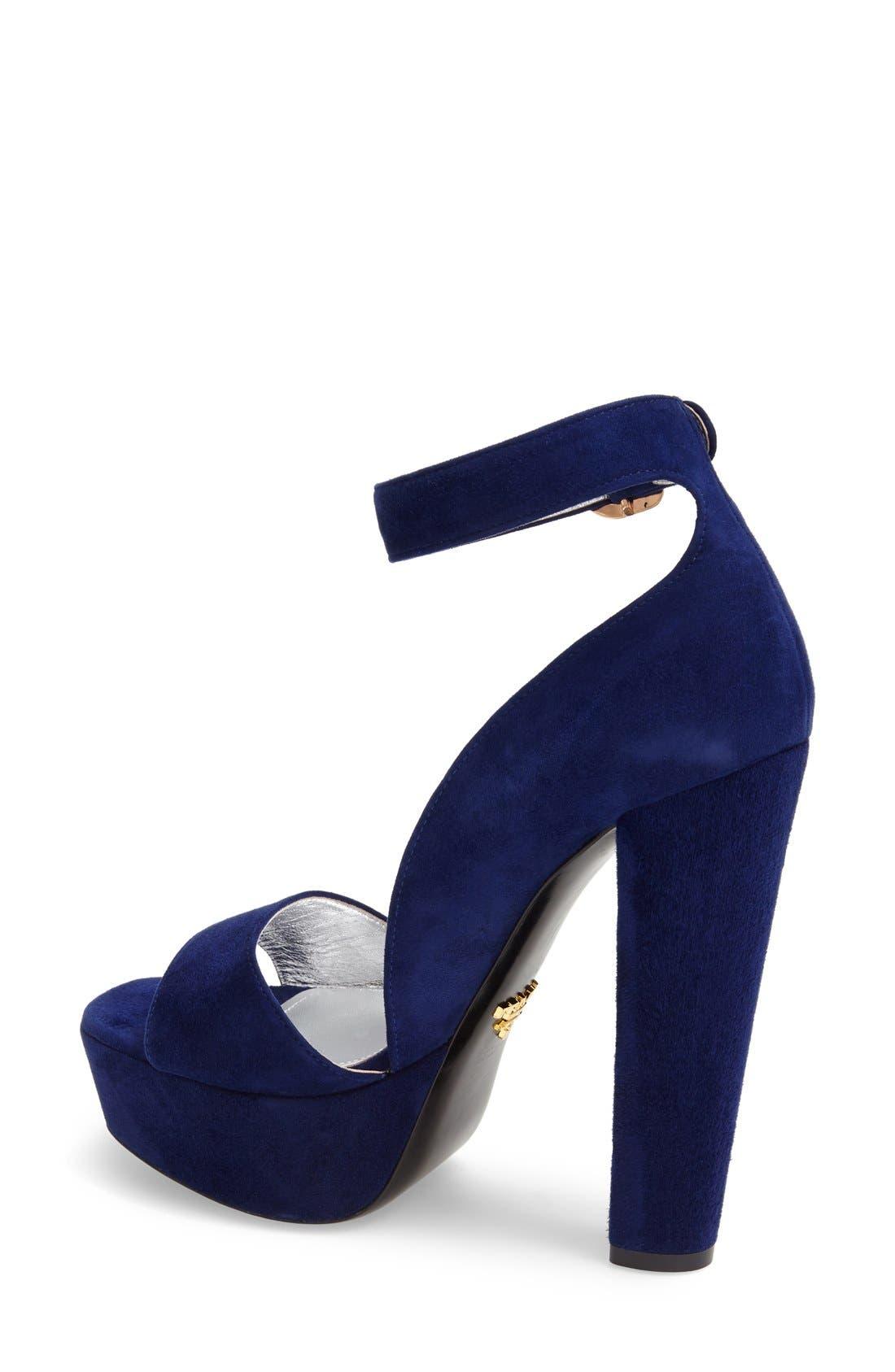 Chunky Heel Sandal,                             Alternate thumbnail 2, color,                             400