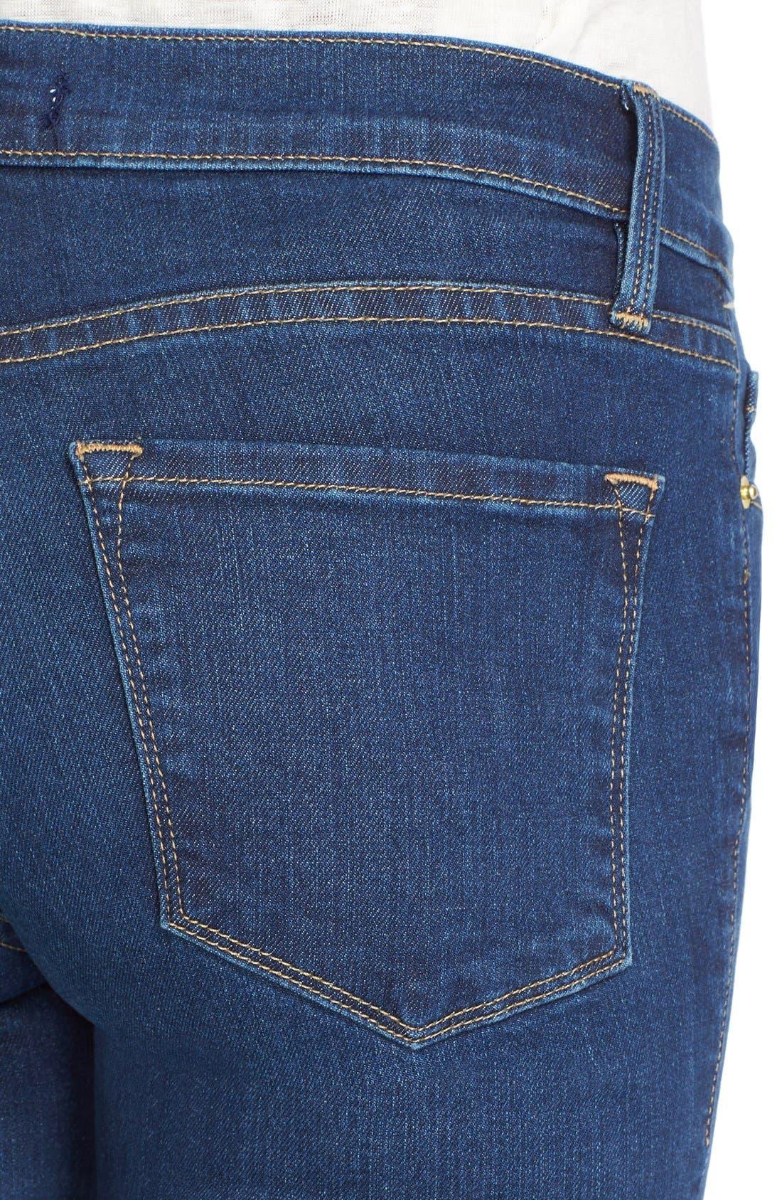 FRAME,                             Forever Karlie Skinny Jeans,                             Alternate thumbnail 5, color,                             401