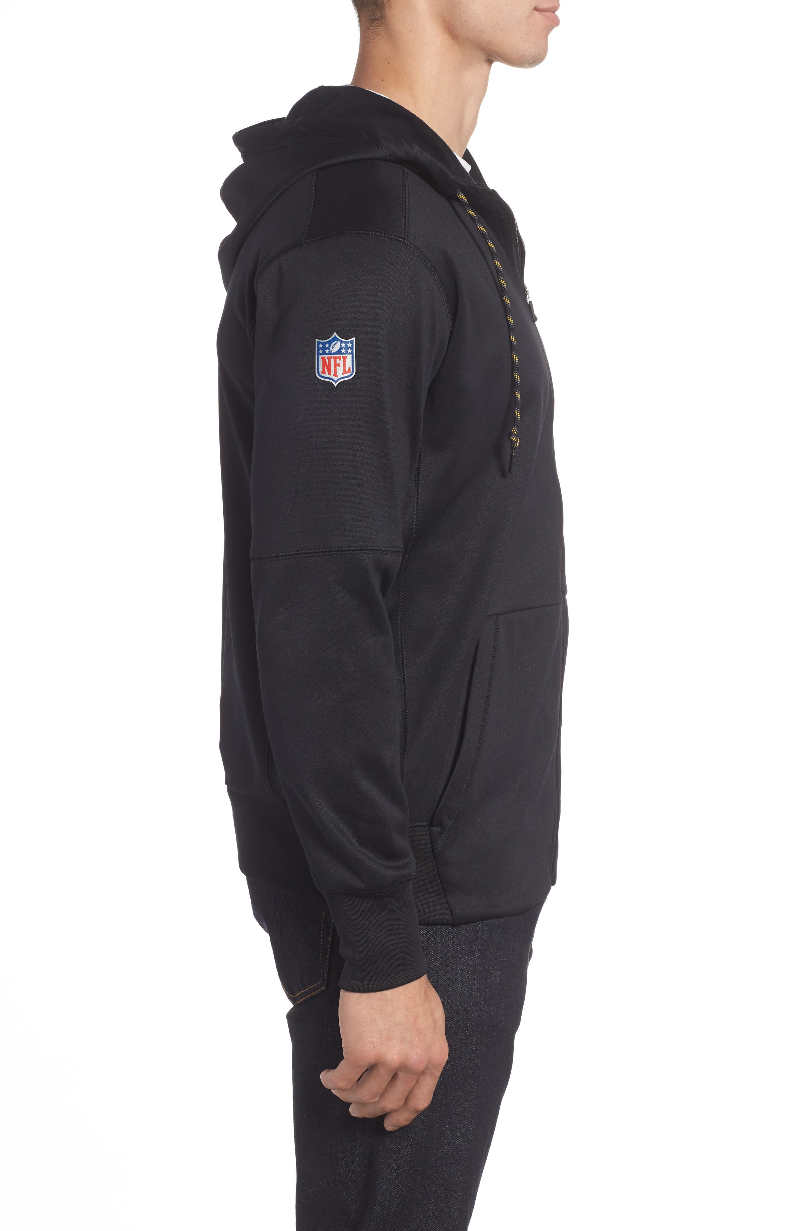 Therma-FIT NFL Graphic Zip Hoodie,                             Alternate thumbnail 16, color,